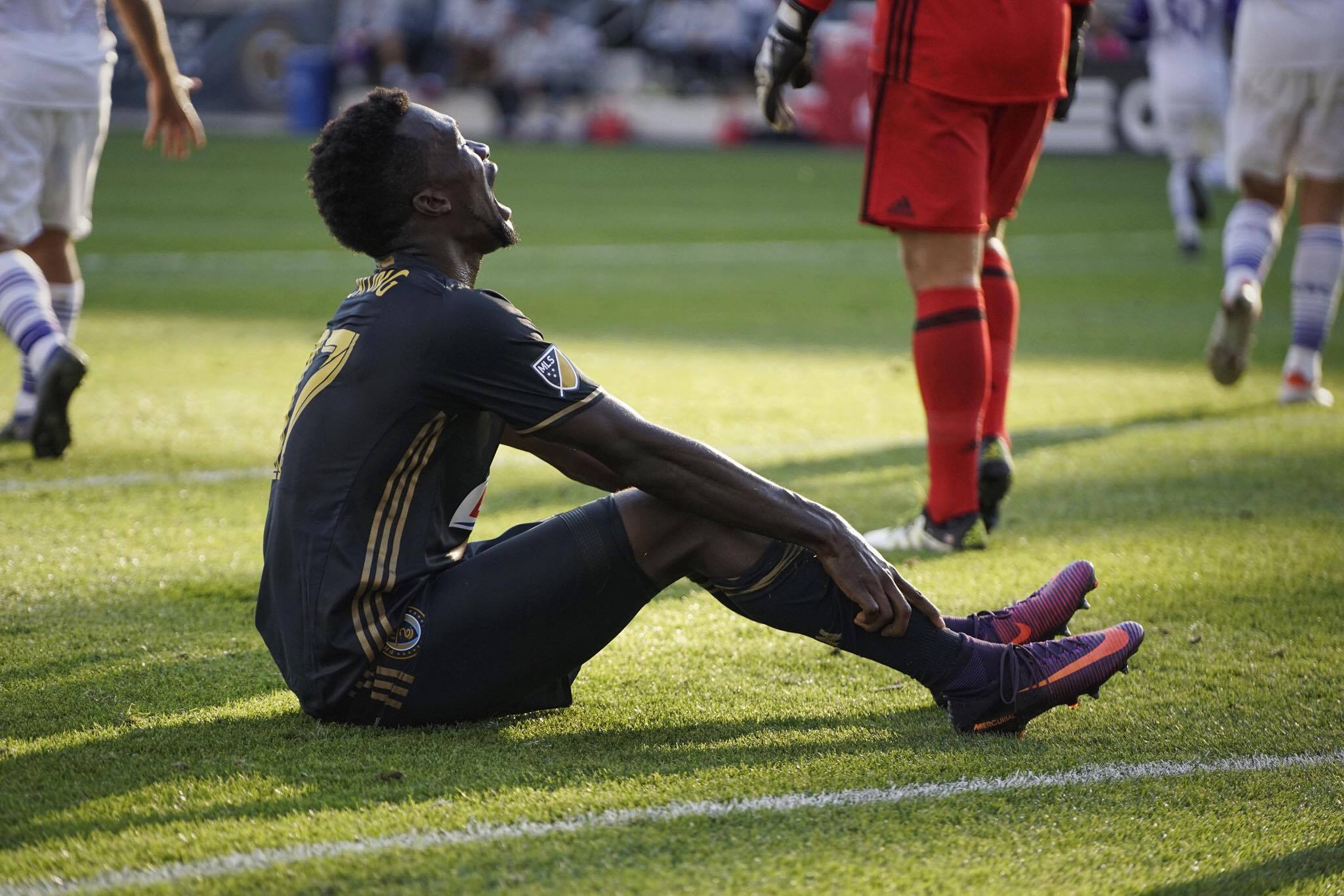 It was frustrating at times for Sapong, especially as the season went on.