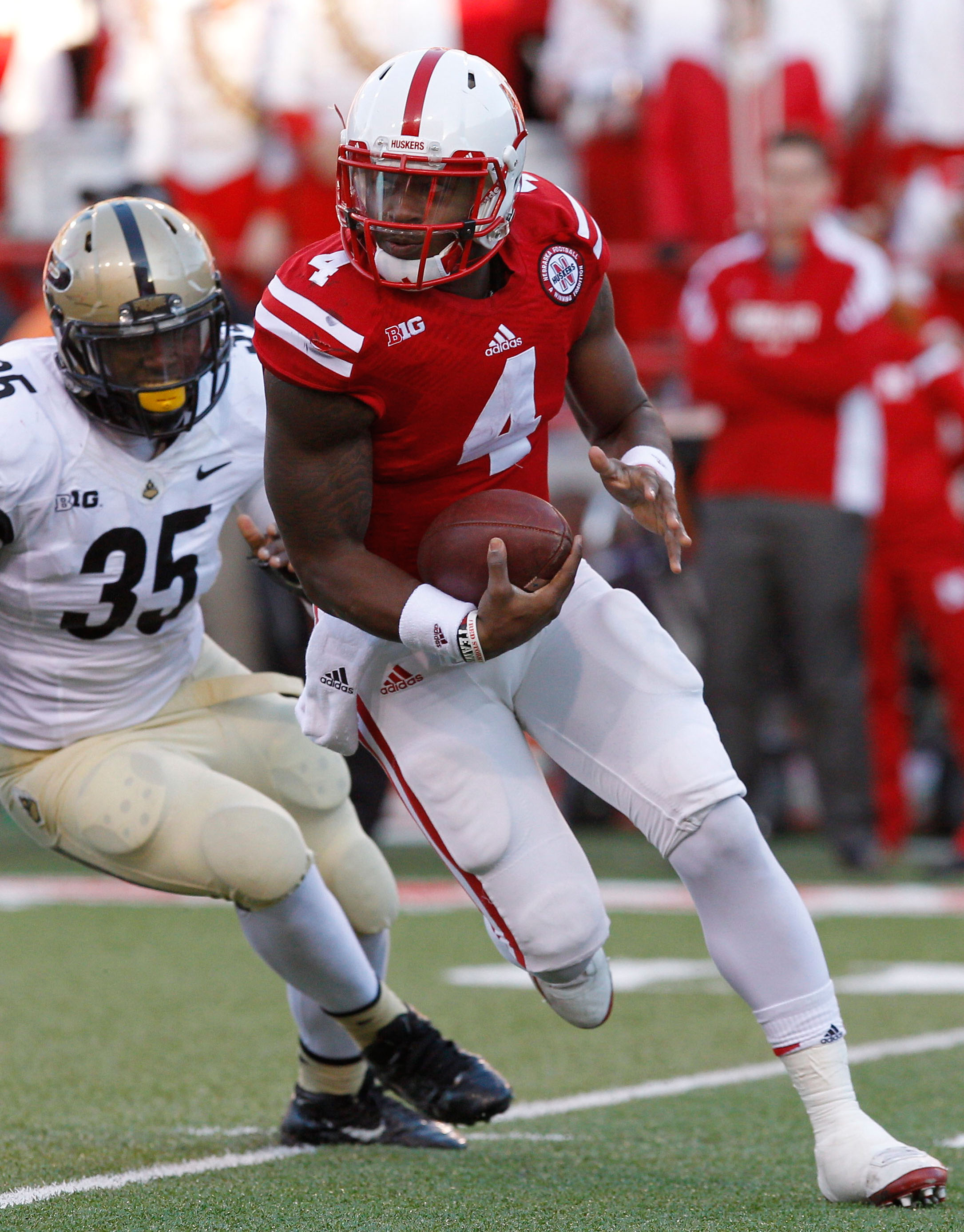 NCAA Football: Purdue at Nebraska