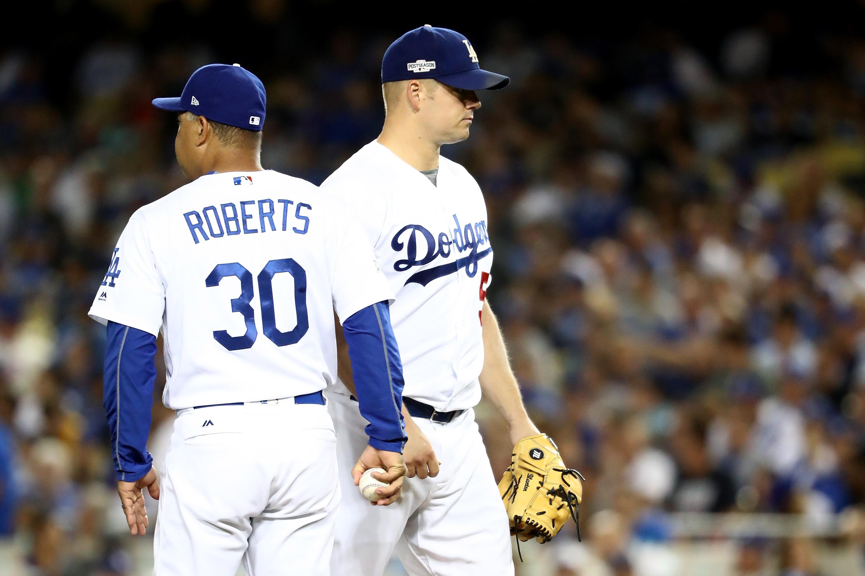 NLCS - Chicago Cubs v Los Angeles Dodgers - Game Five