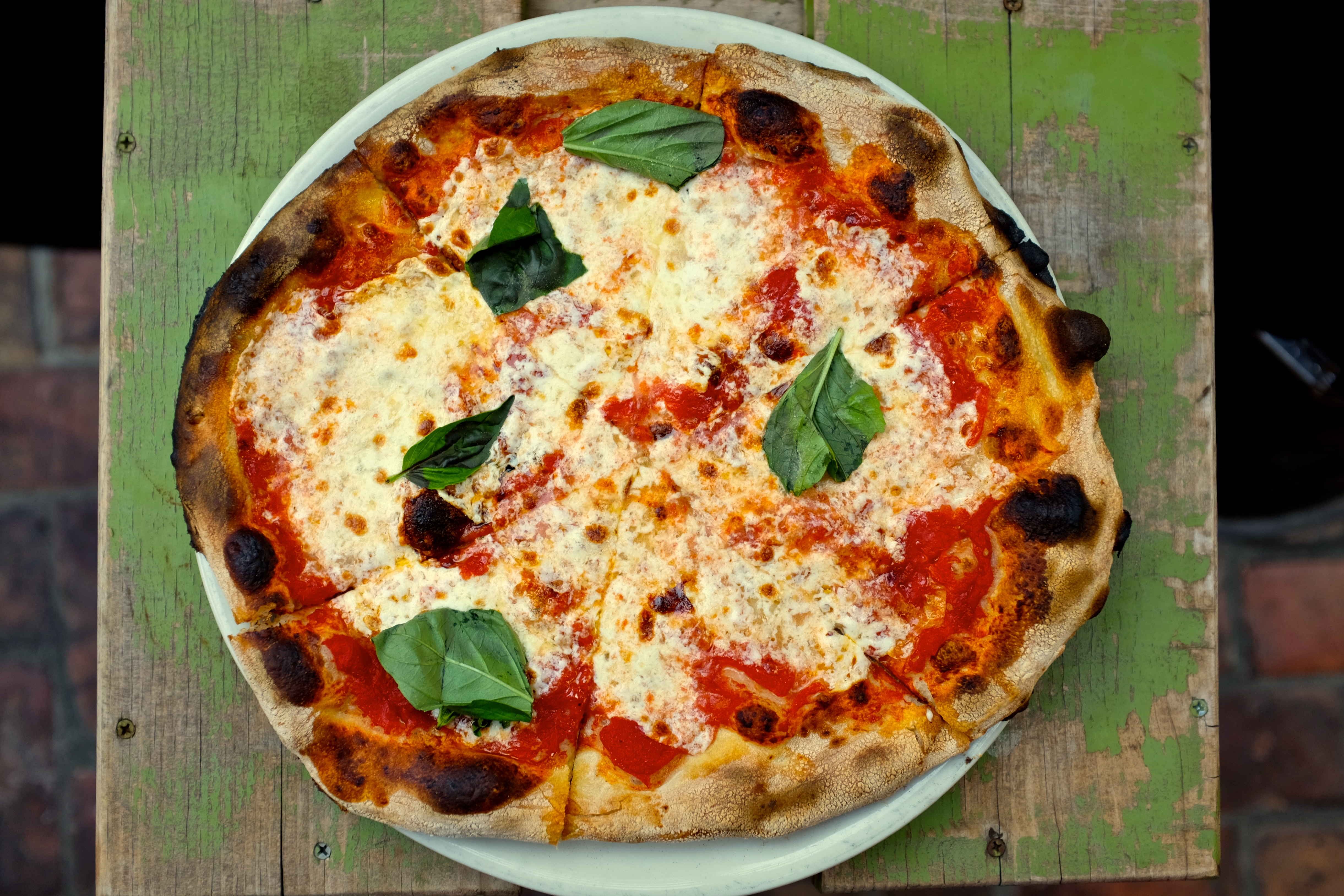 Pizza from Pizzeria Bianco
