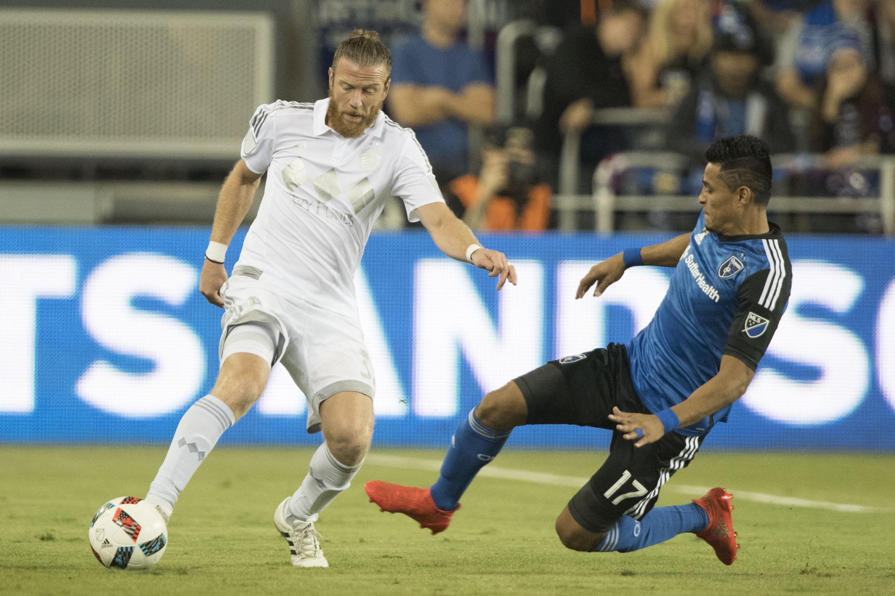 MLS: Sporting KC at San Jose Earthquakes