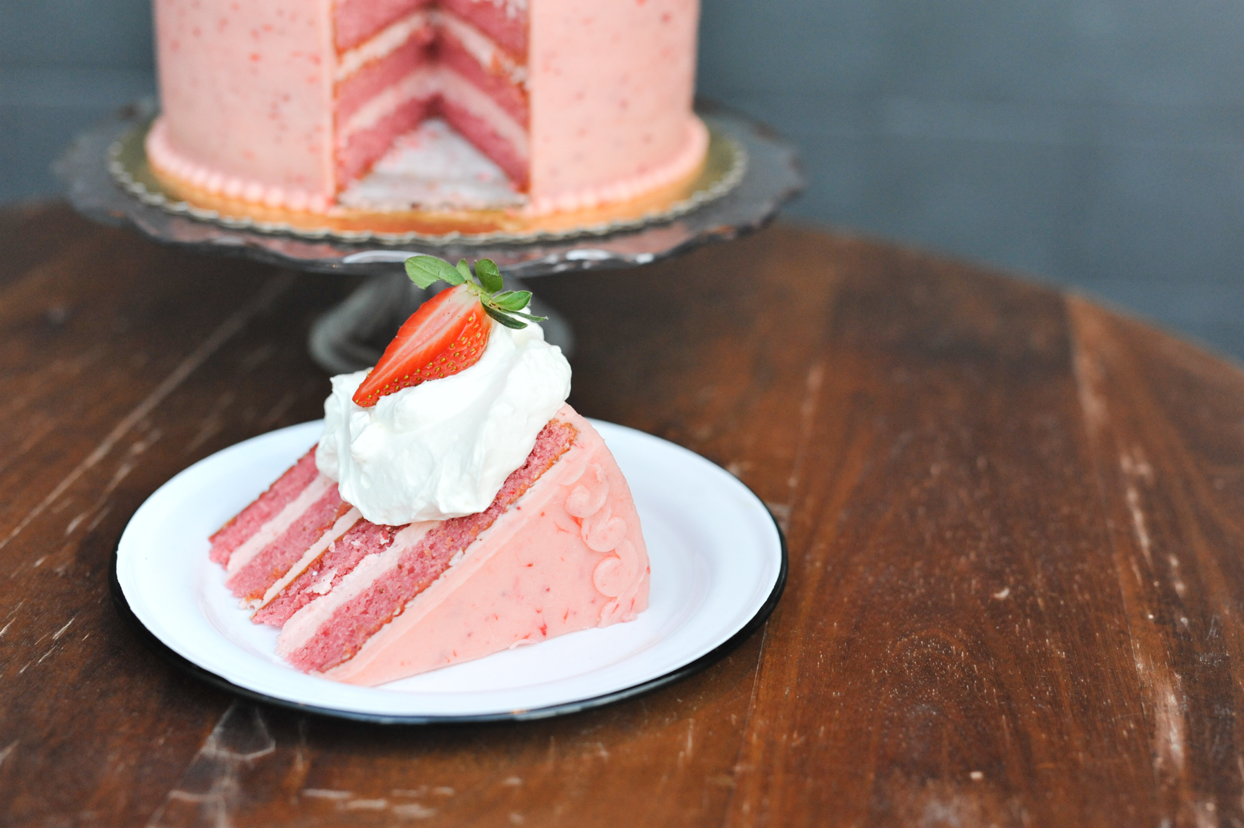 Jacoby's strawberry cake