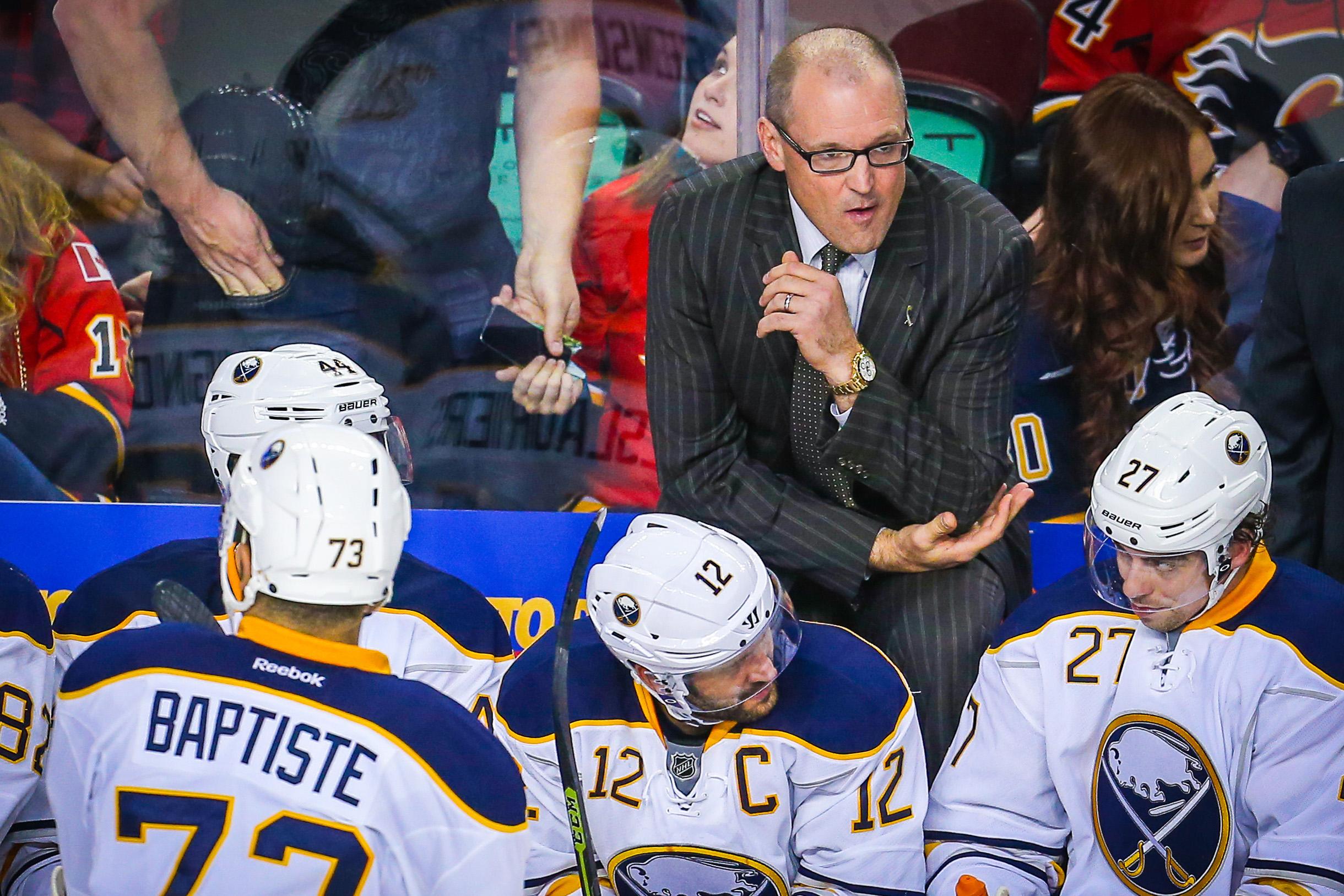 NHL: Buffalo Sabres at Calgary Flames