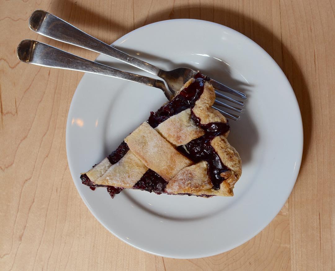 A pie from baker Nicole Rucker in Los Angeles