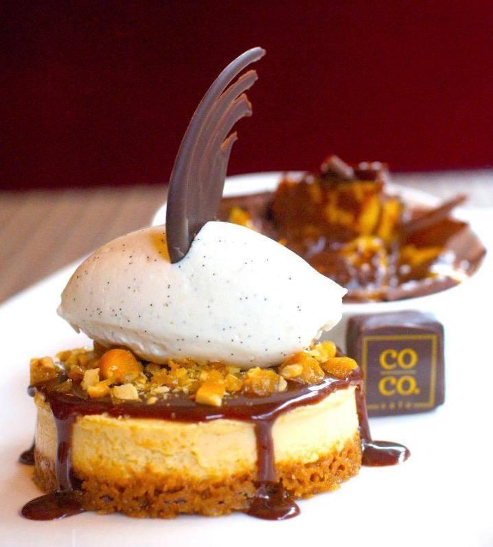 Dessert at Co Co. Sala