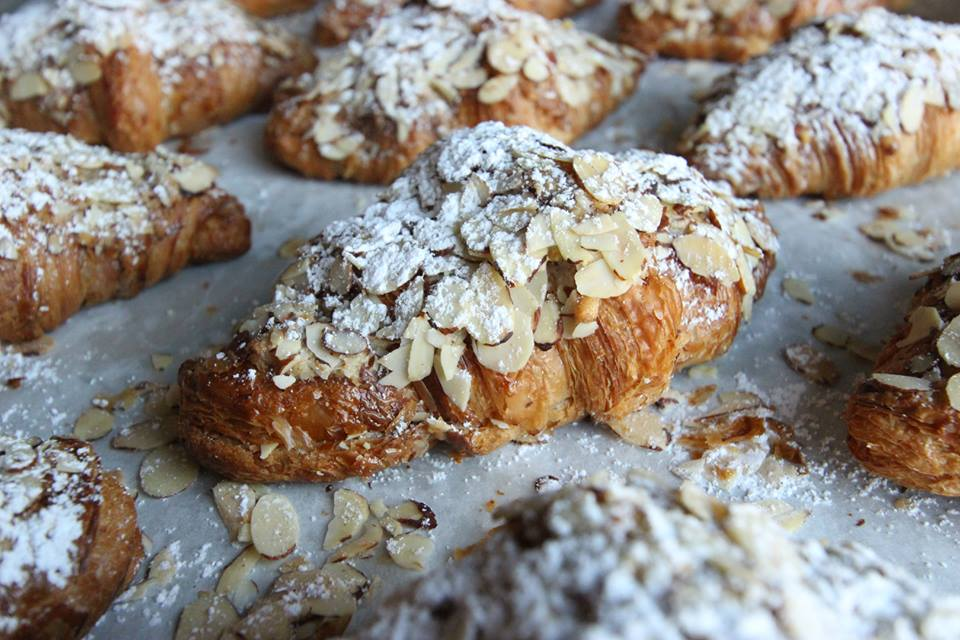 Almond croissant at Proof