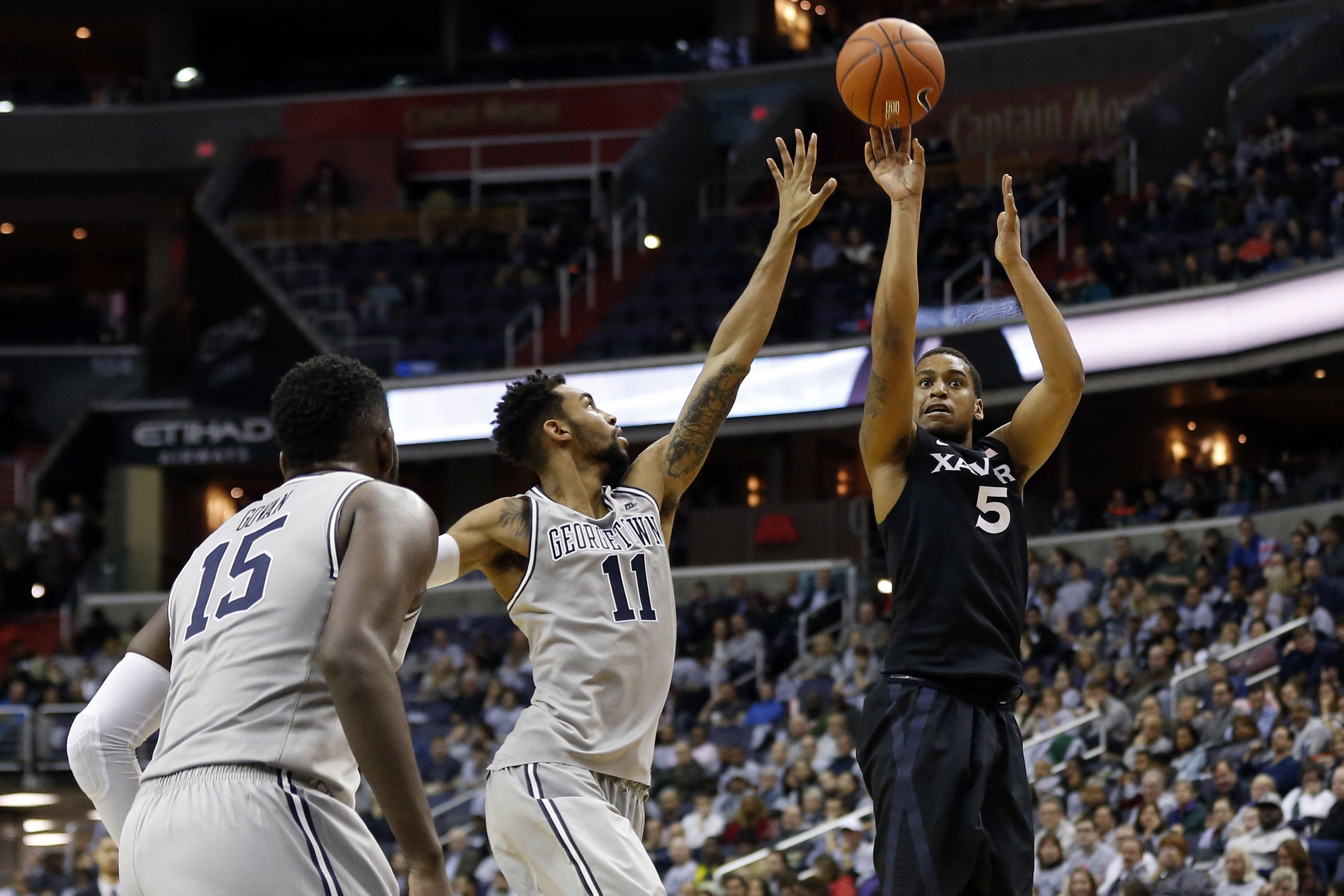 NCAA Basketball: Xavier at Georgetown