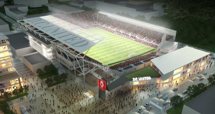 D.C. Untied stadium rendering, Sept. 1 2015