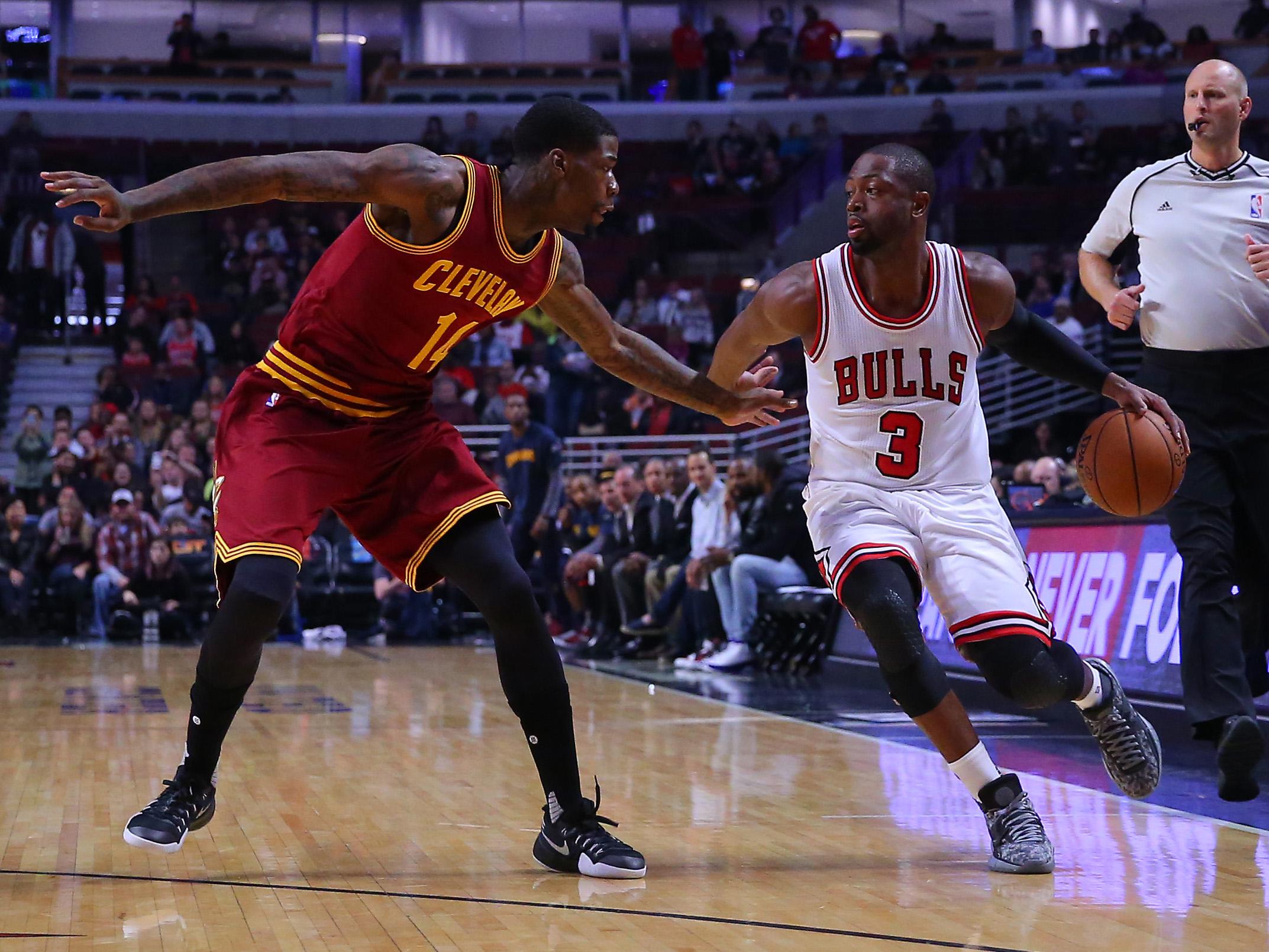 NBA: Preseason-Cleveland Cavaliers at Chicago Bulls