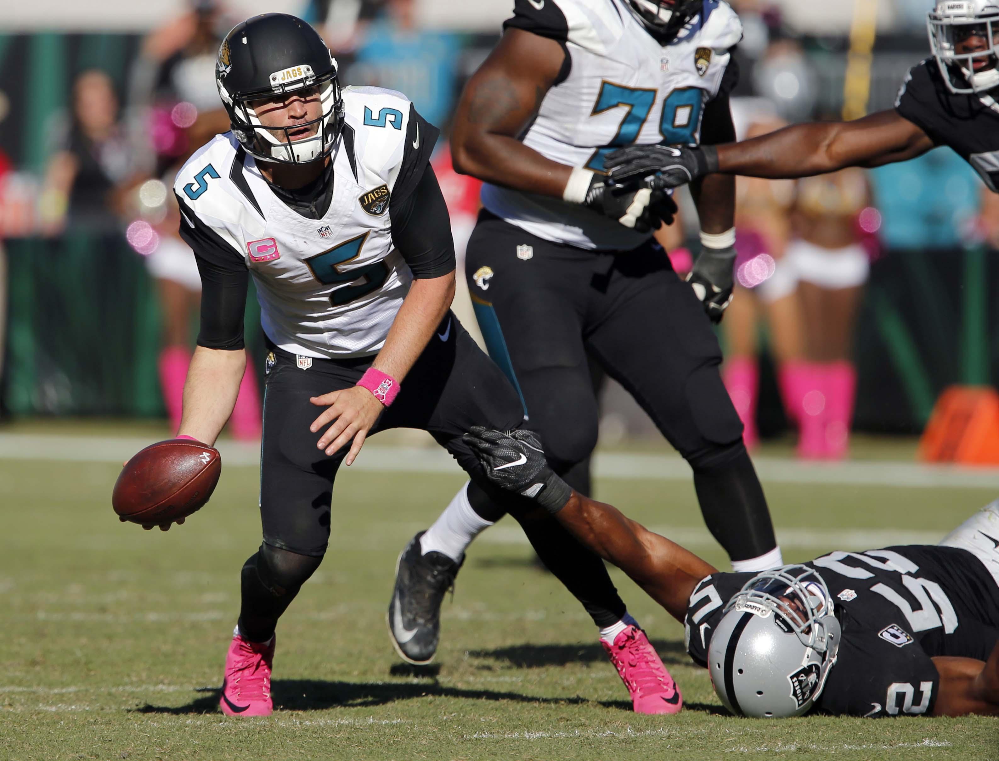 NFL: Oakland Raiders at Jacksonville Jaguars