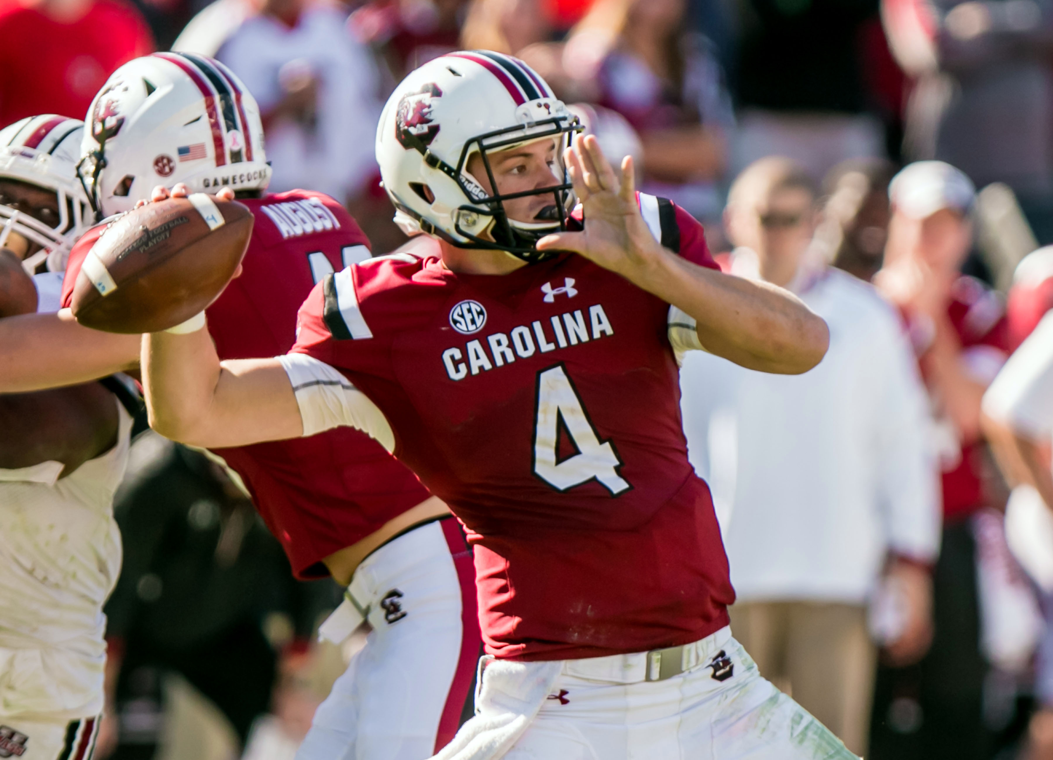 NCAA Football: Massachusetts at South Carolina