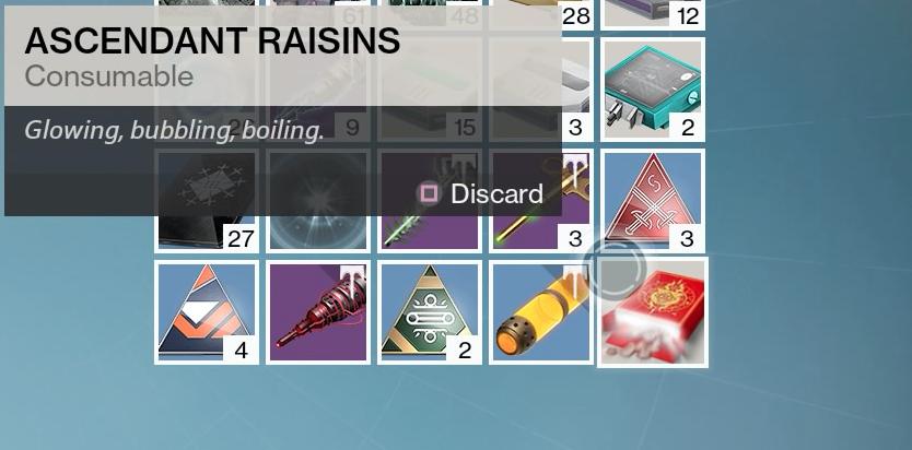 Destiny fans uncover the secret of the Tiny Box of Raisins