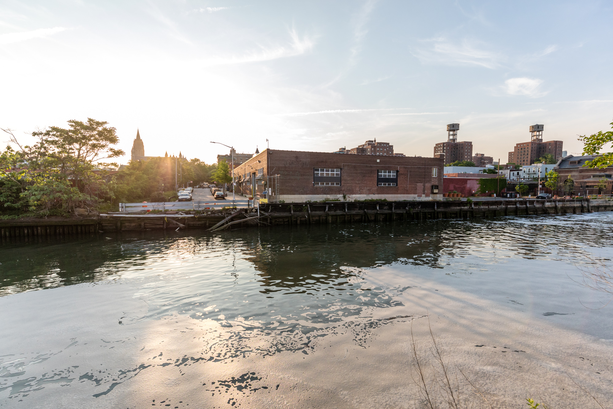 Gowanus Canal cleanup crews find garbage, trees, and wrecked boats