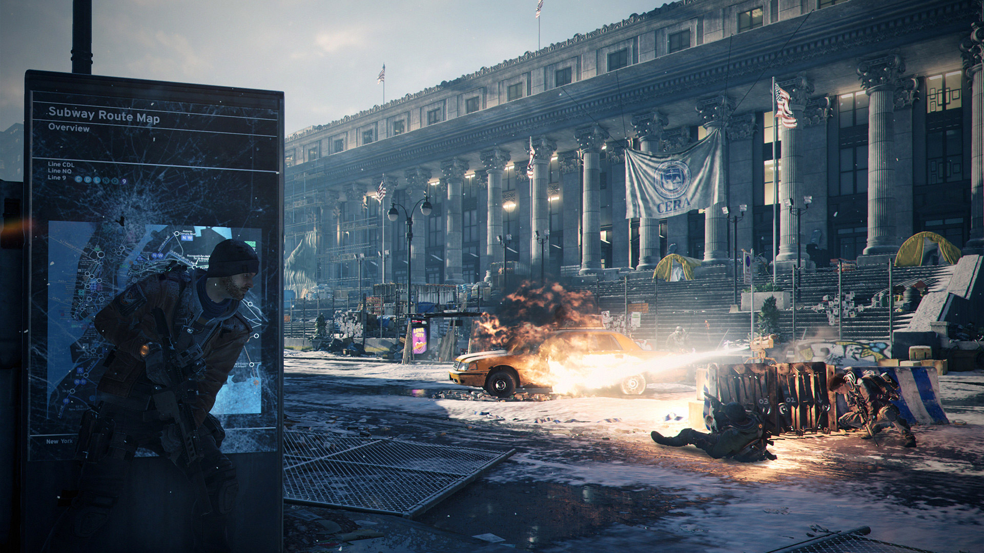 The Division's big, first player-tested patch is now live