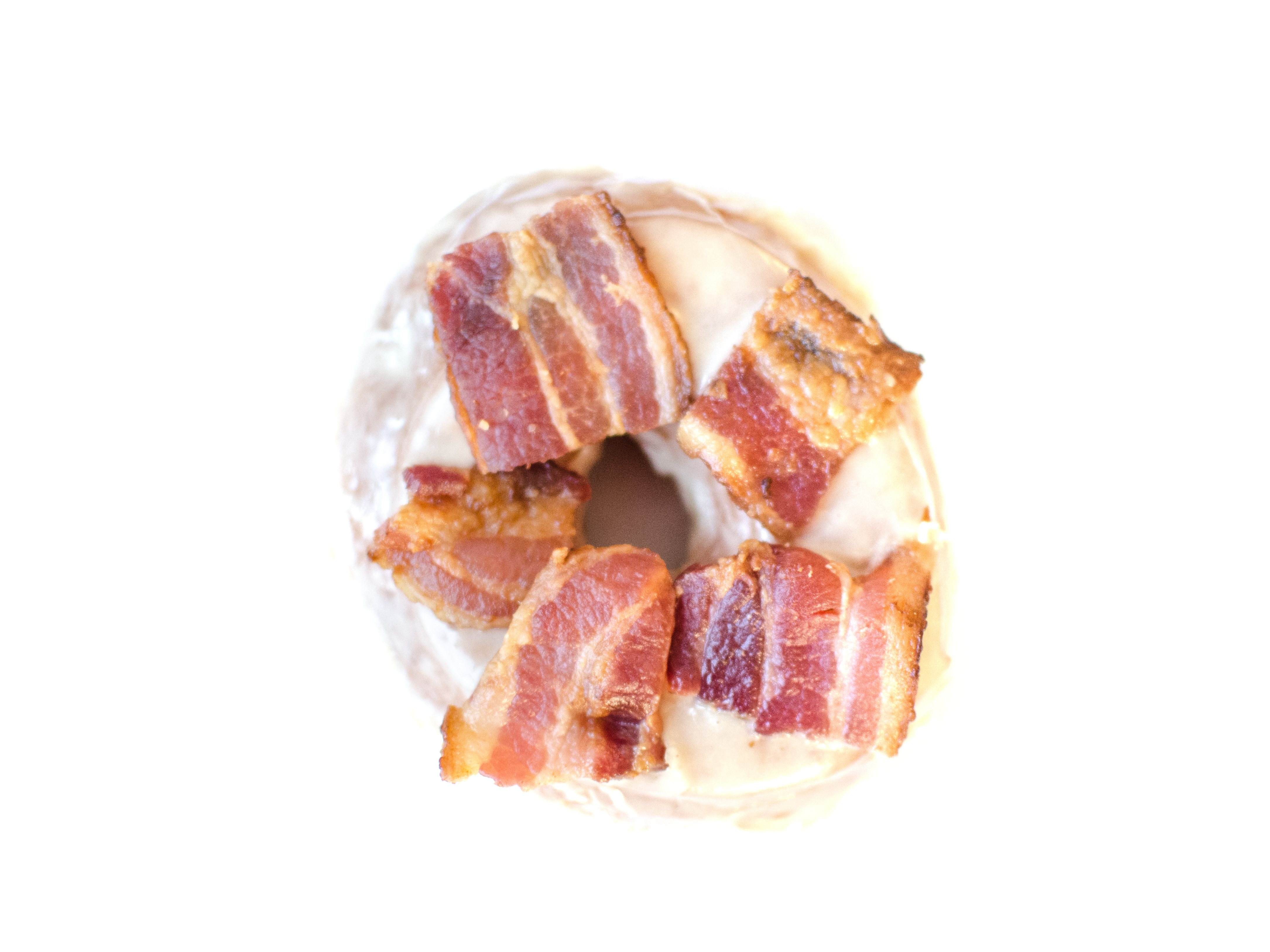 A maple bacon doughnut from Union Square Donuts