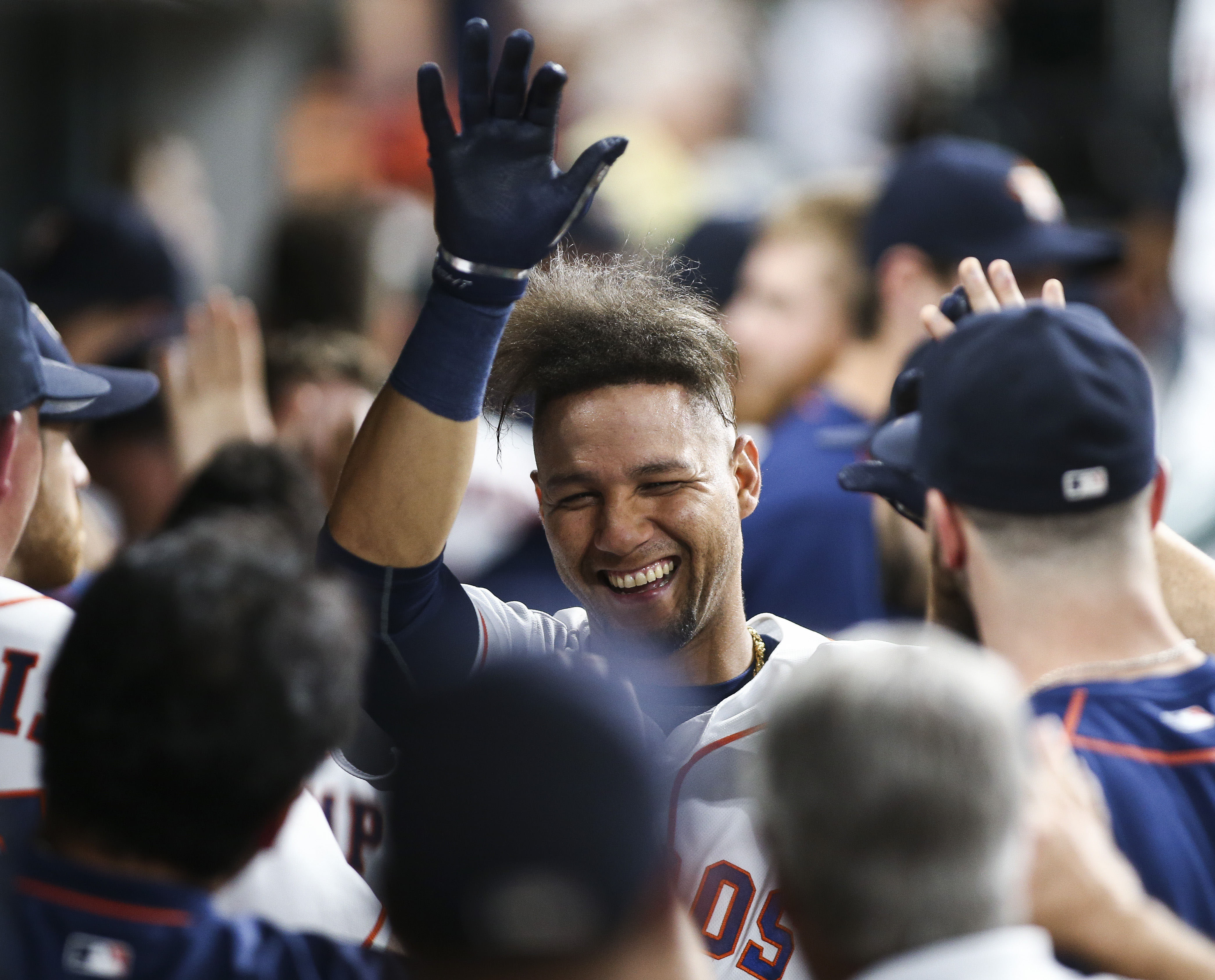 Yuli Gurriel figures to factor prominently in the picture for playing time in Houston in 2017.