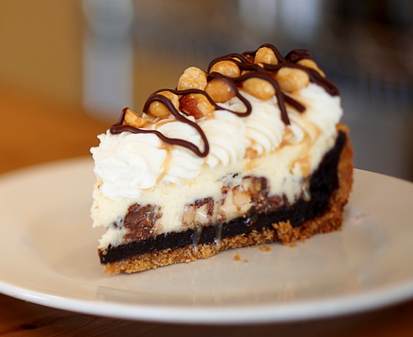 Snickers pie, oh my.