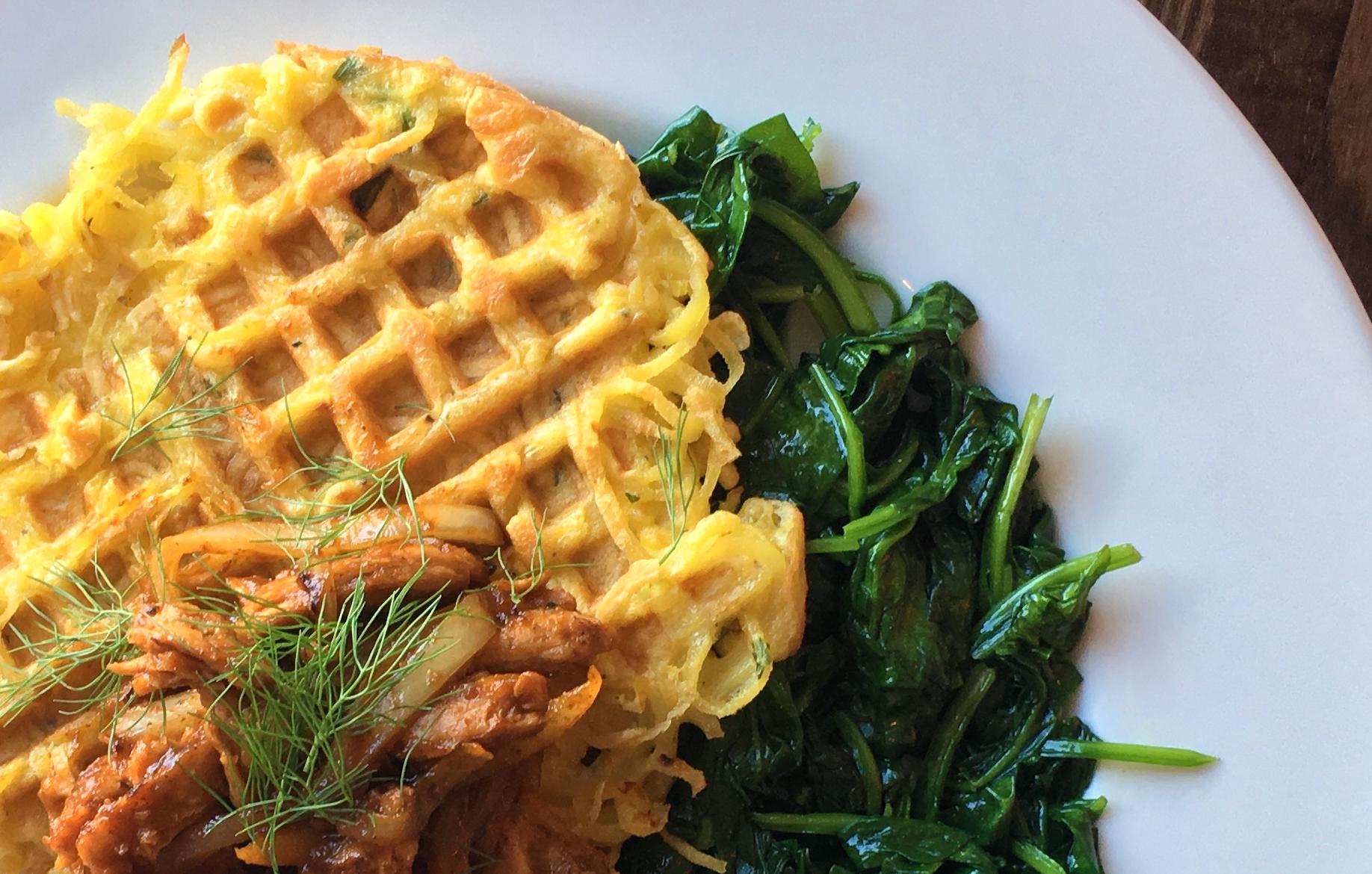 Citizen Eatery's parsnip waffles