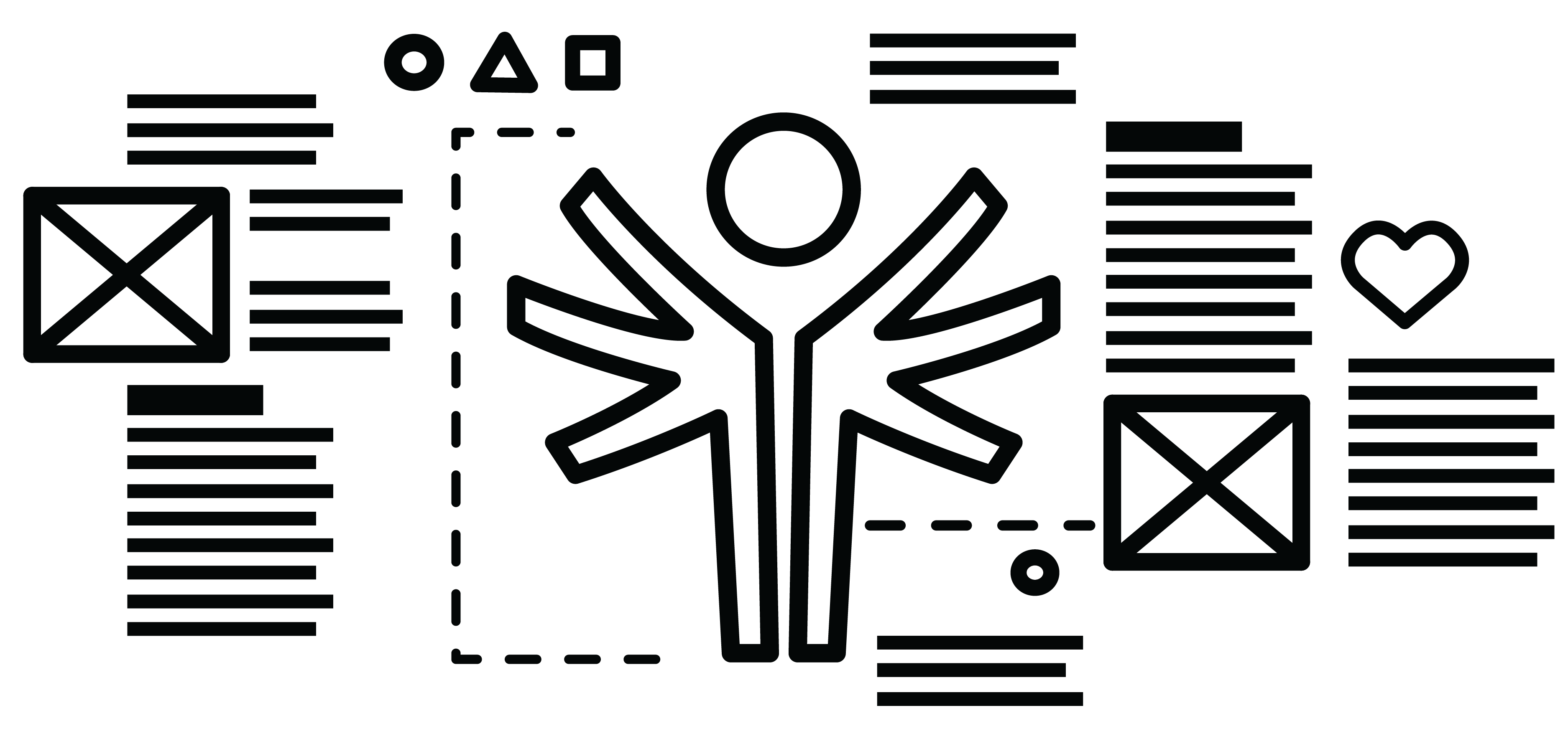 Cover: Special Olympics Logo surrounded by design wireframes