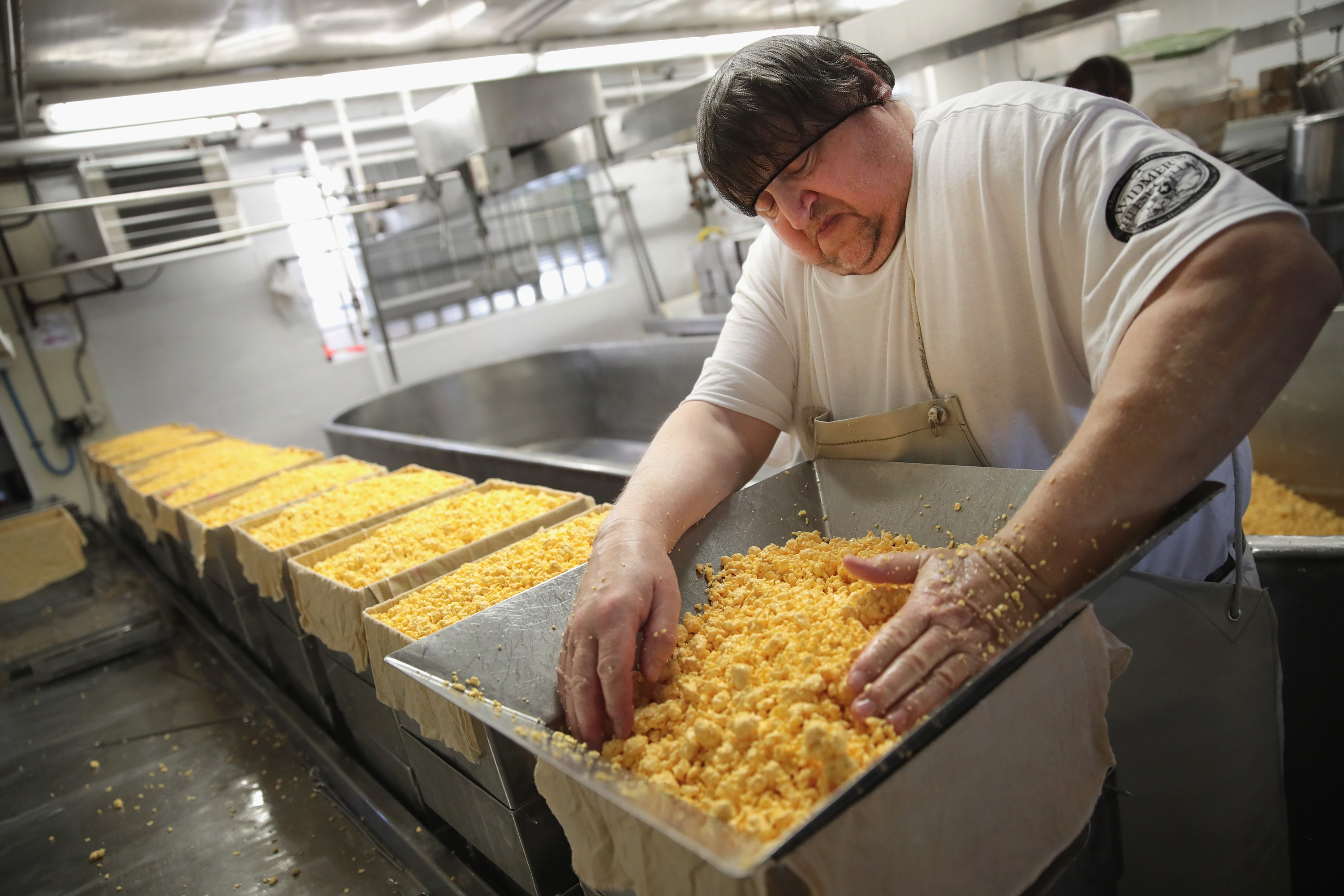 America Faces Surplus Of Cheese With Record Dairy Production