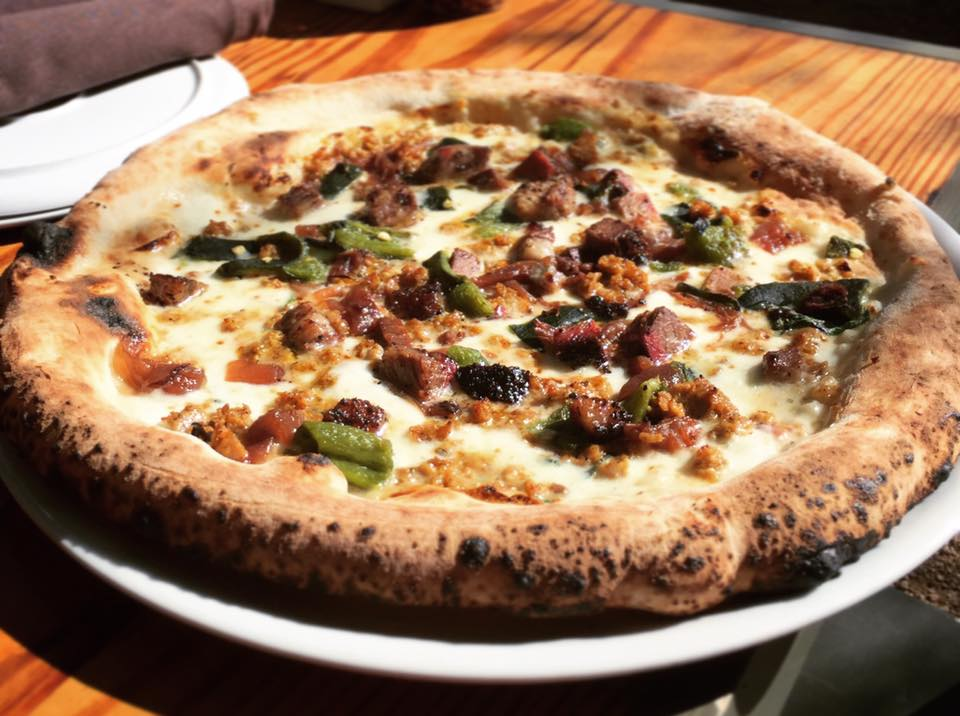Revel in Cane Rosso's Bad Hombre Pizza, Full of Barbecue and Queso
