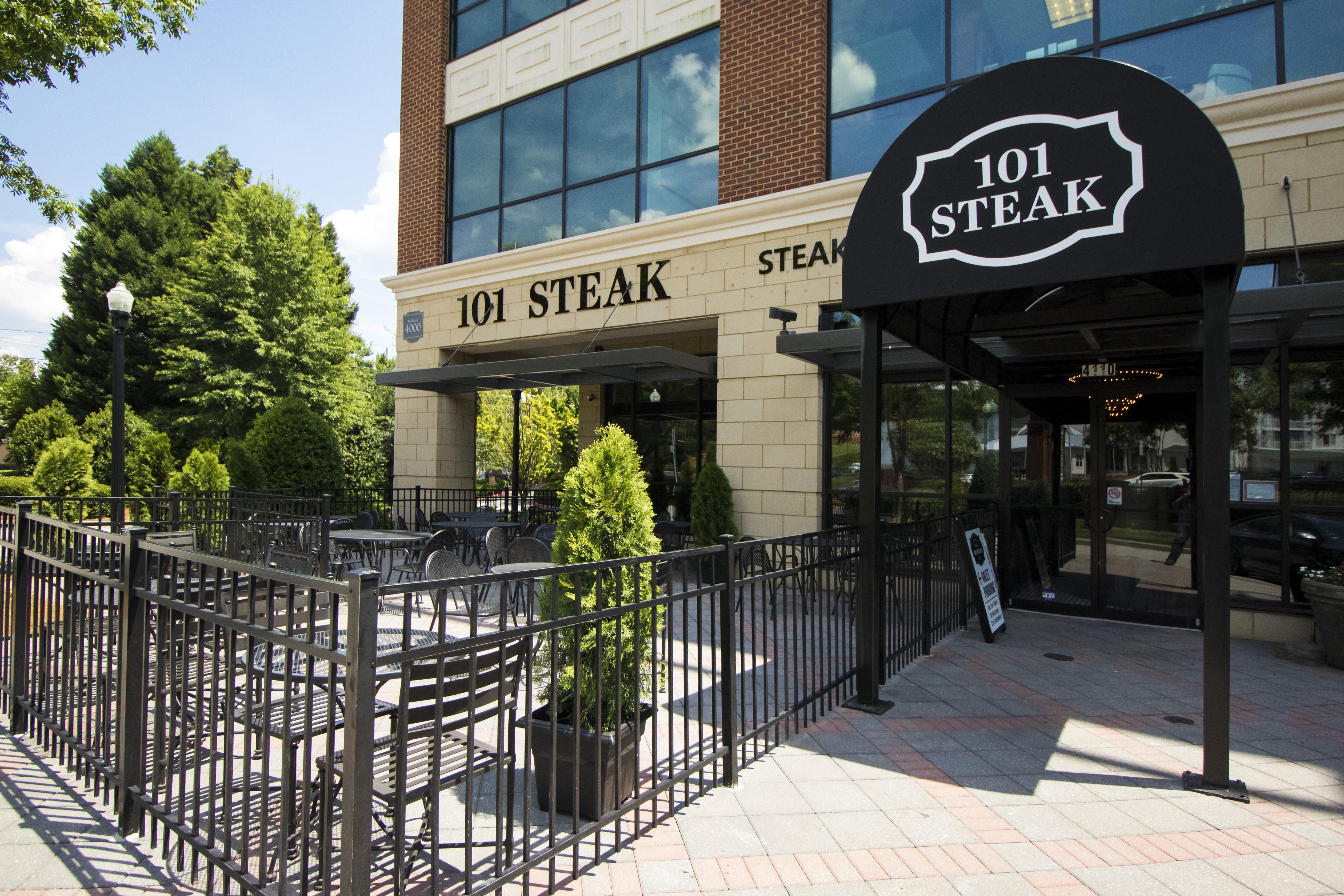 Exterior view of 101 Steak.