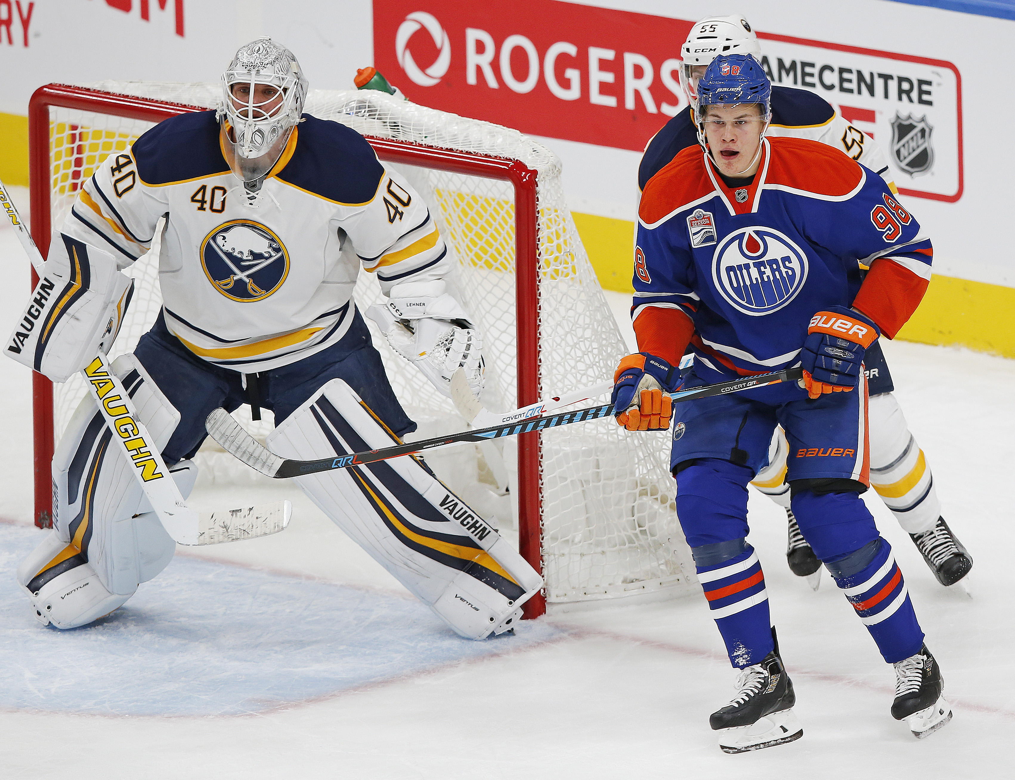 NHL: Buffalo Sabres at Edmonton Oilers