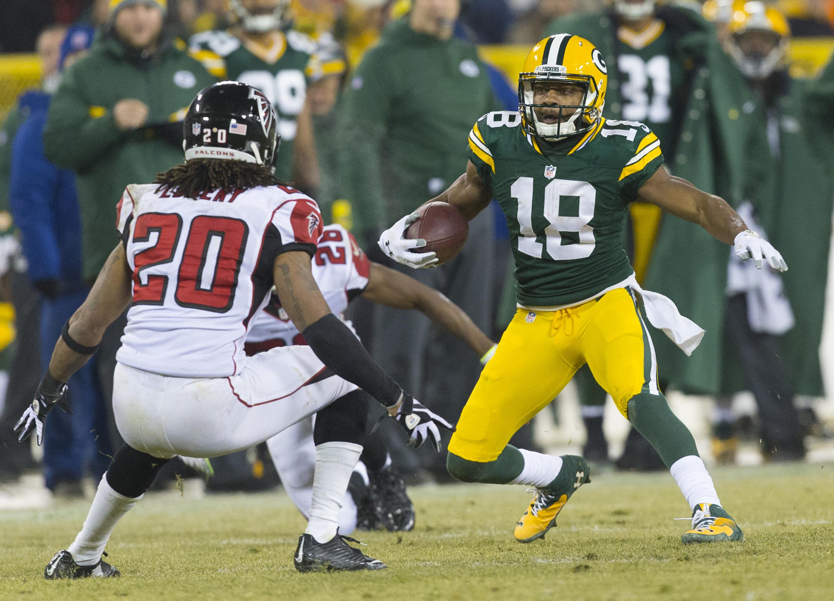 NFL: Atlanta Falcons at Green Bay Packers