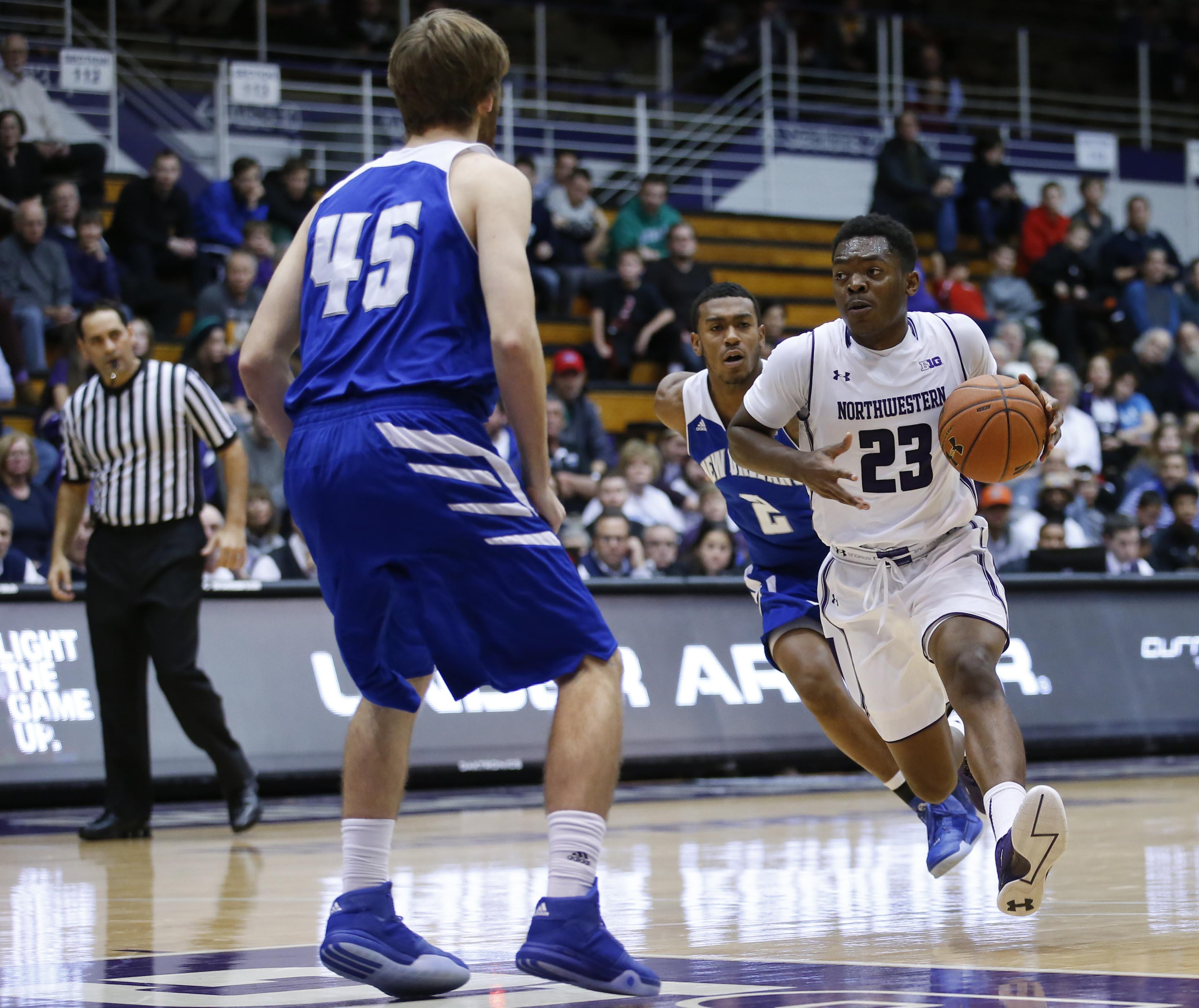 NCAA Basketball: New Orleans at Northwestern