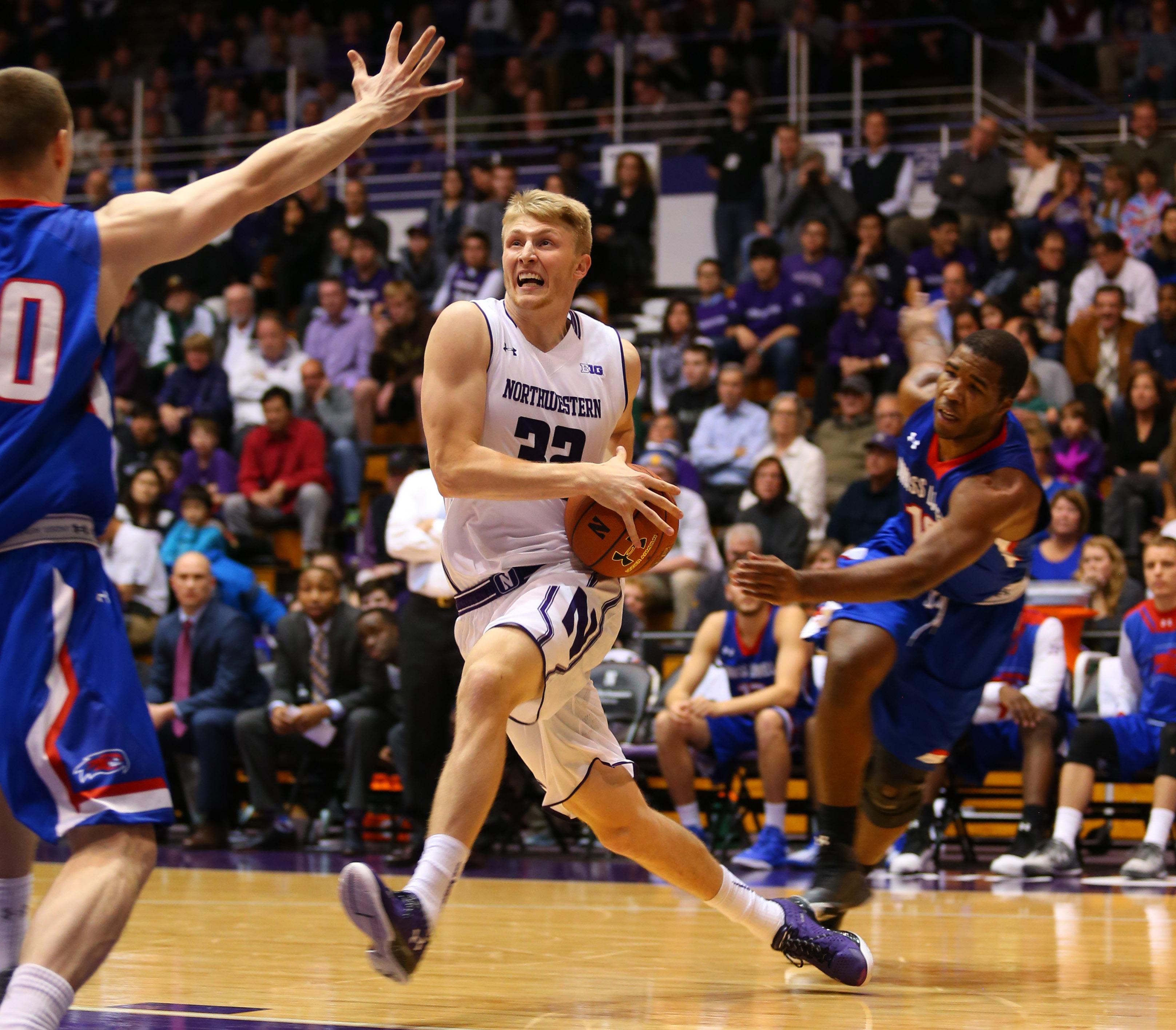 NCAA Basketball: Massachusetts Lowell at Northwestern