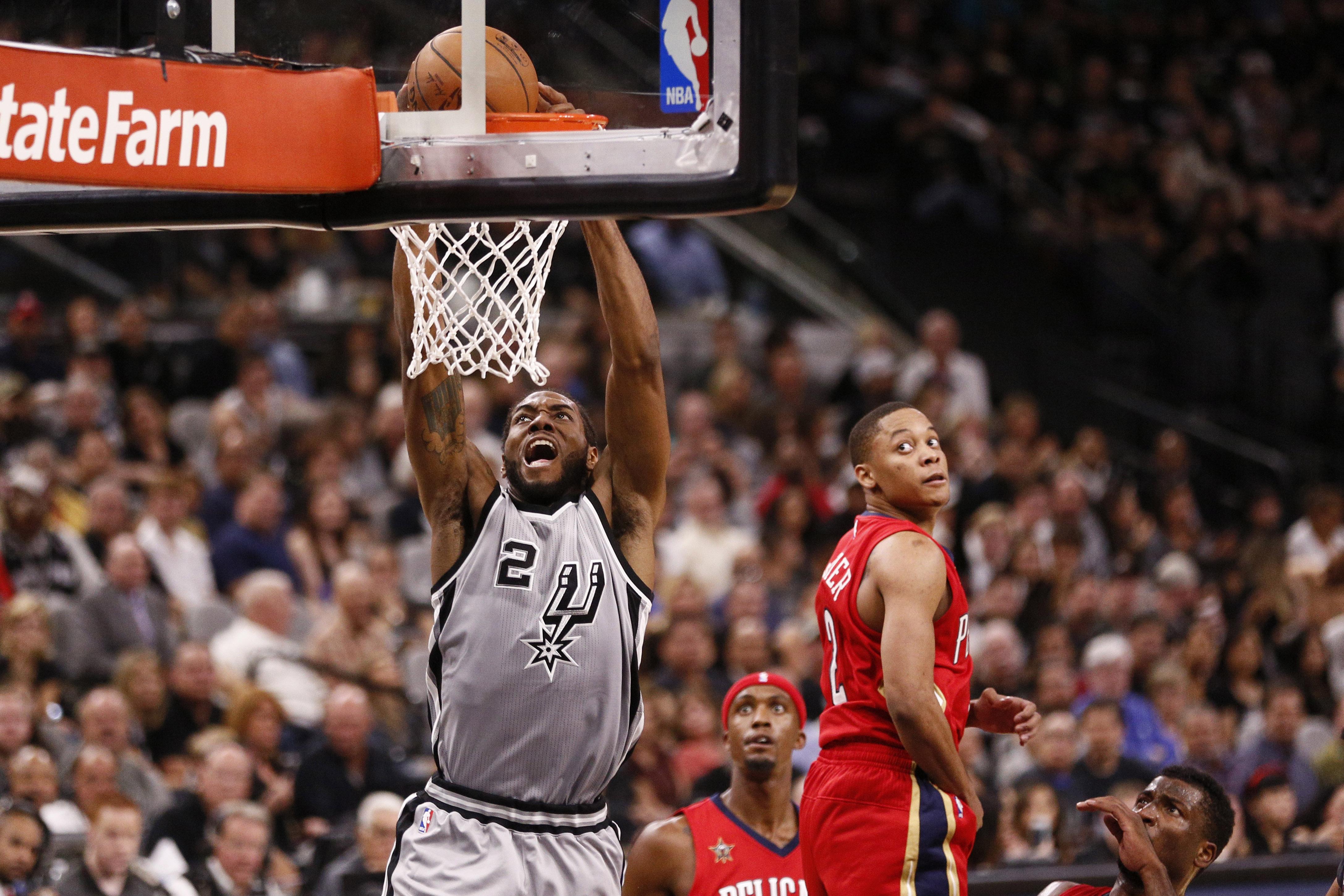 NBA: New Orleans Pelicans at San Antonio Spurs