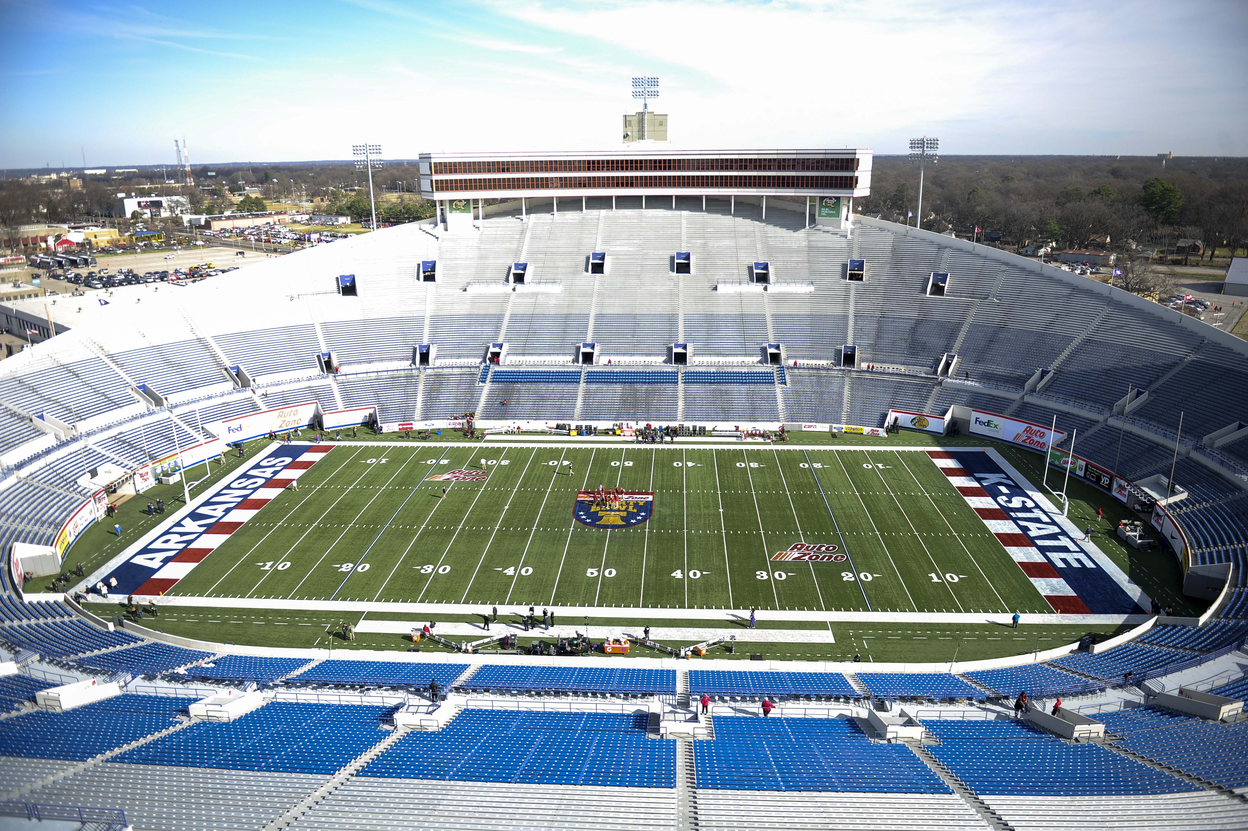 NCAA Football: Liberty Bowl-Kansas State vs Arkansas