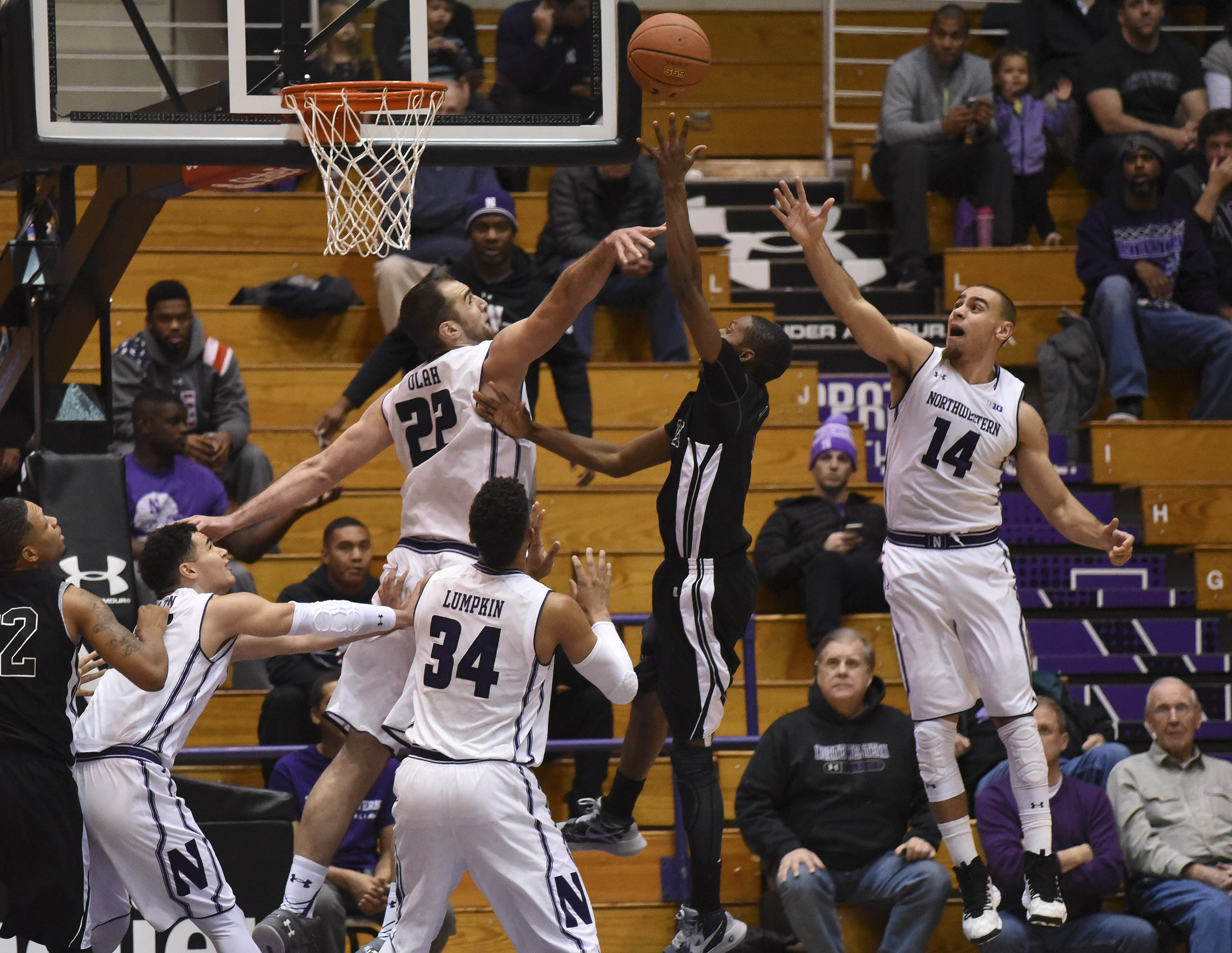 NCAA Basketball: Mississippi Valley State at Northwestern