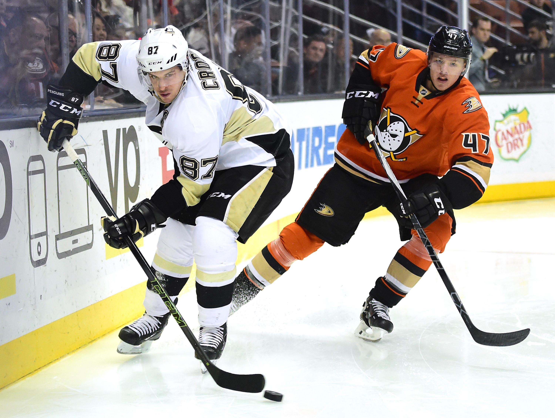 Pittsburgh Penguins v Anaheim Ducks