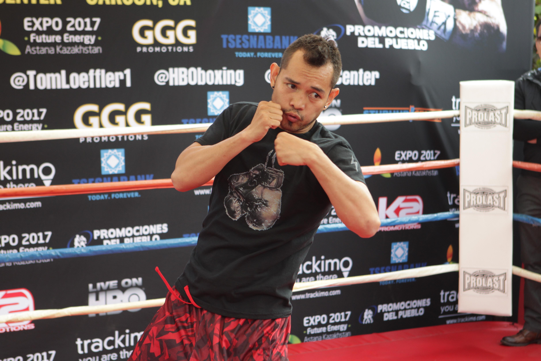 Gennady Golovkin Fight Week Media Workouts