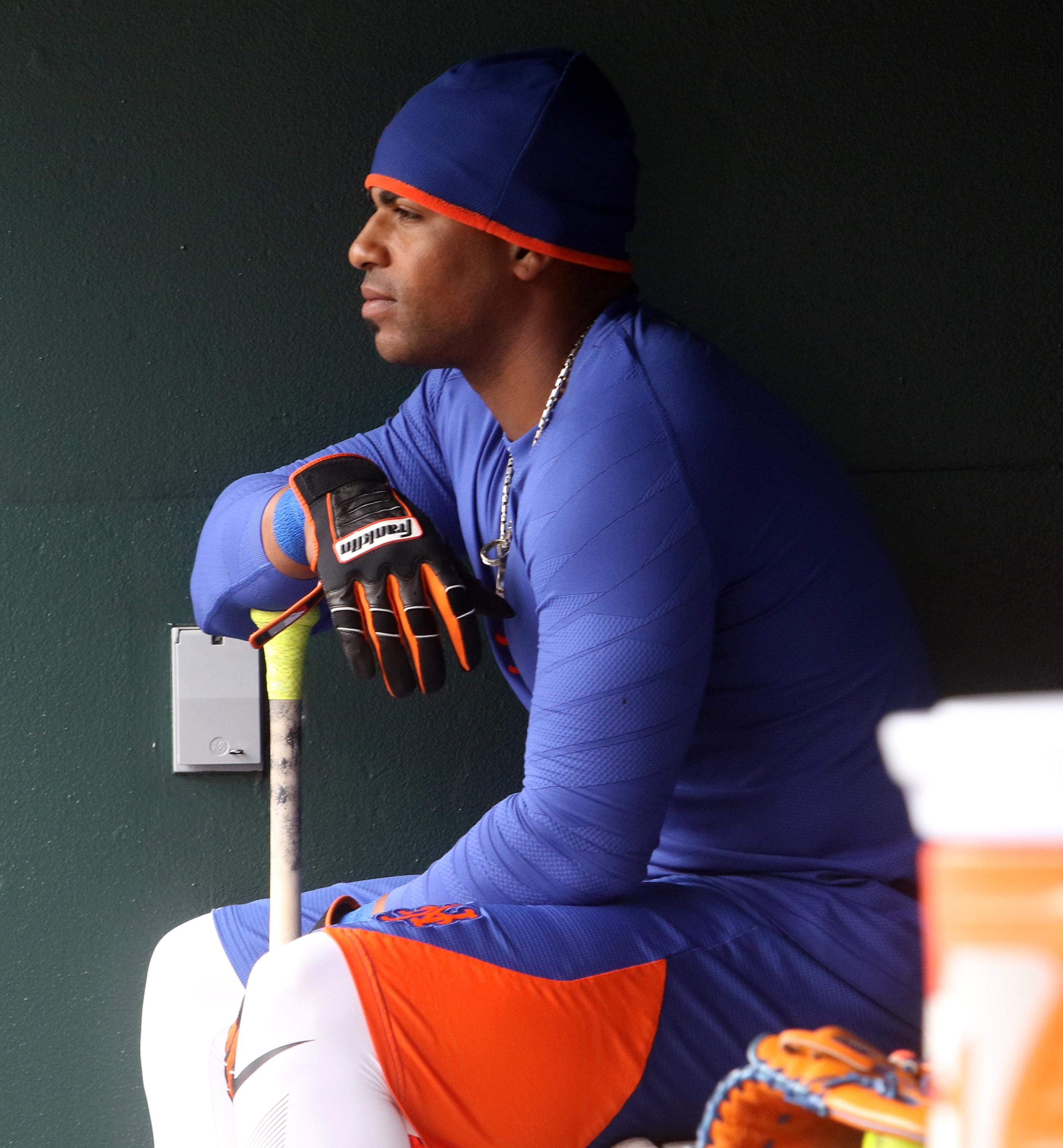 MLB: New York Mets Workout