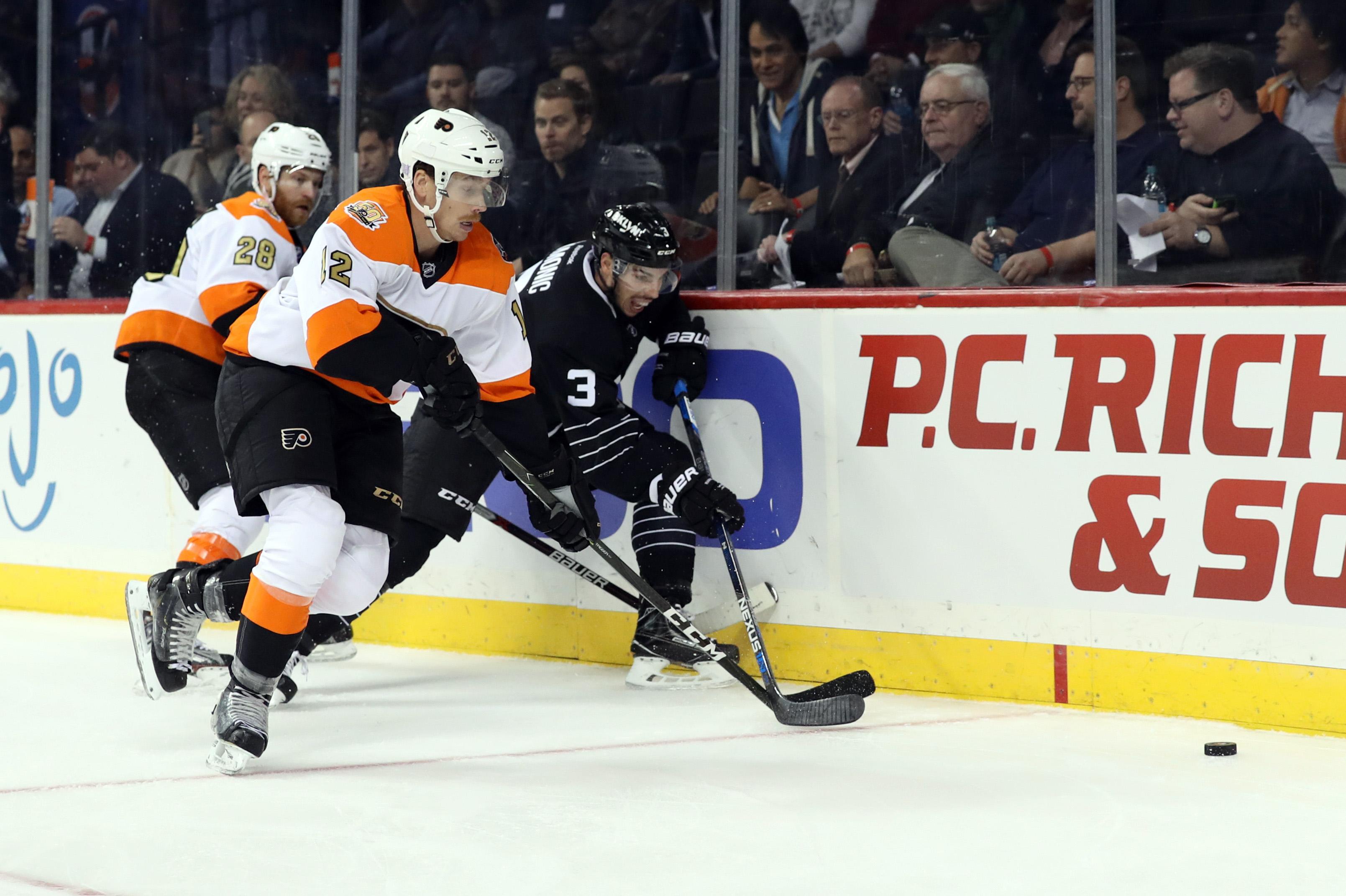 NHL: Philadelphia Flyers at New York Islanders