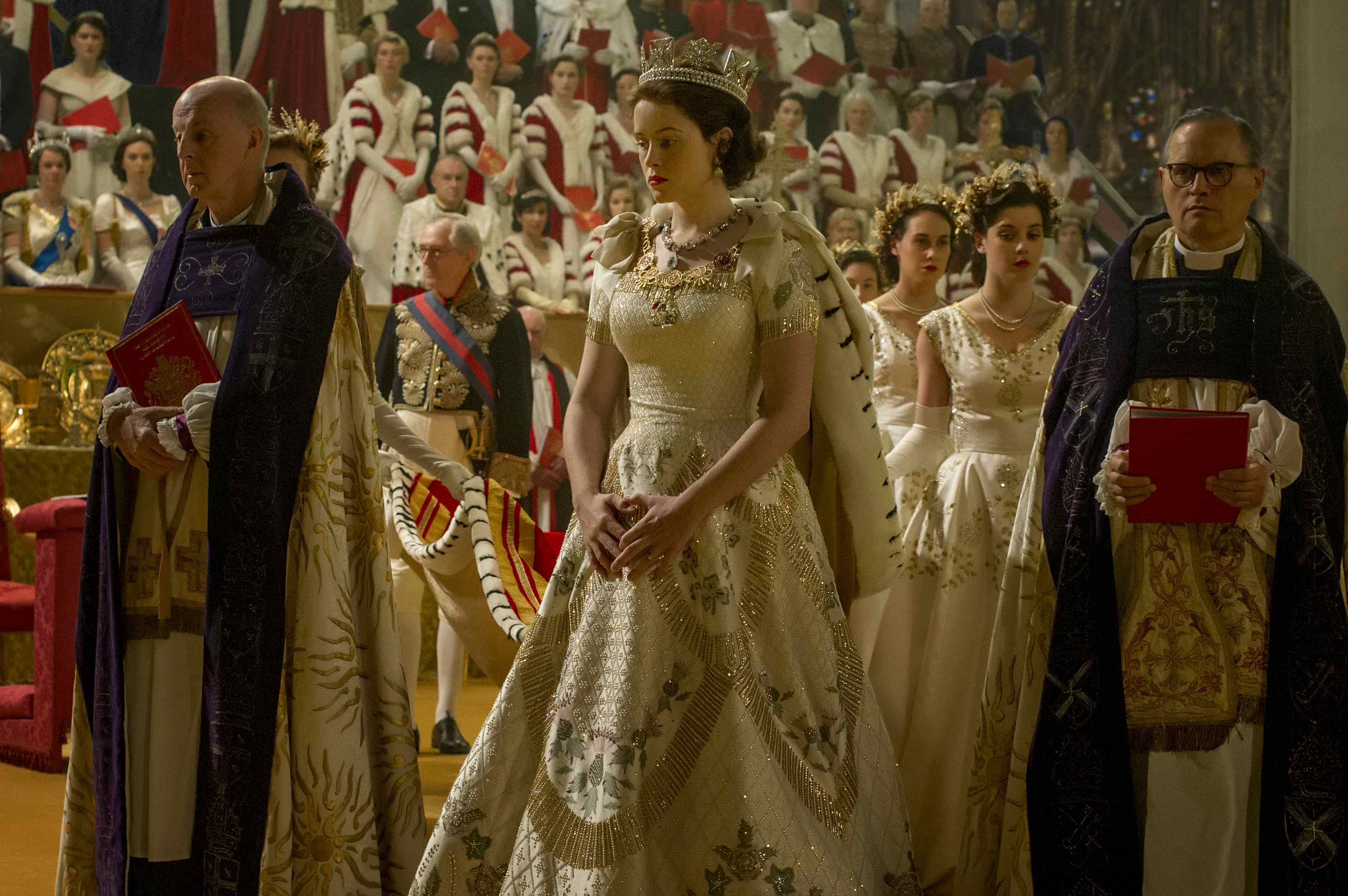 Netflix's The Crown is sumptuous, expensive, and maybe a