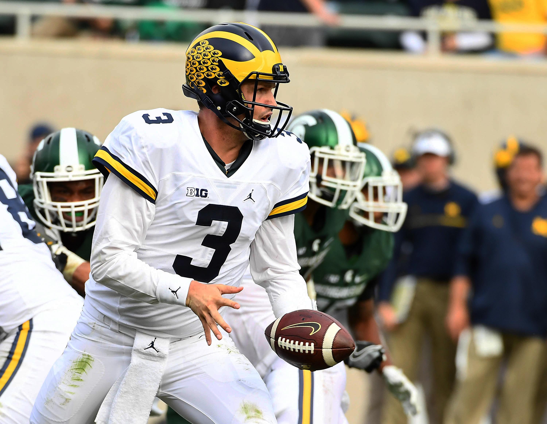 NCAA Football: Michigan at Michigan State