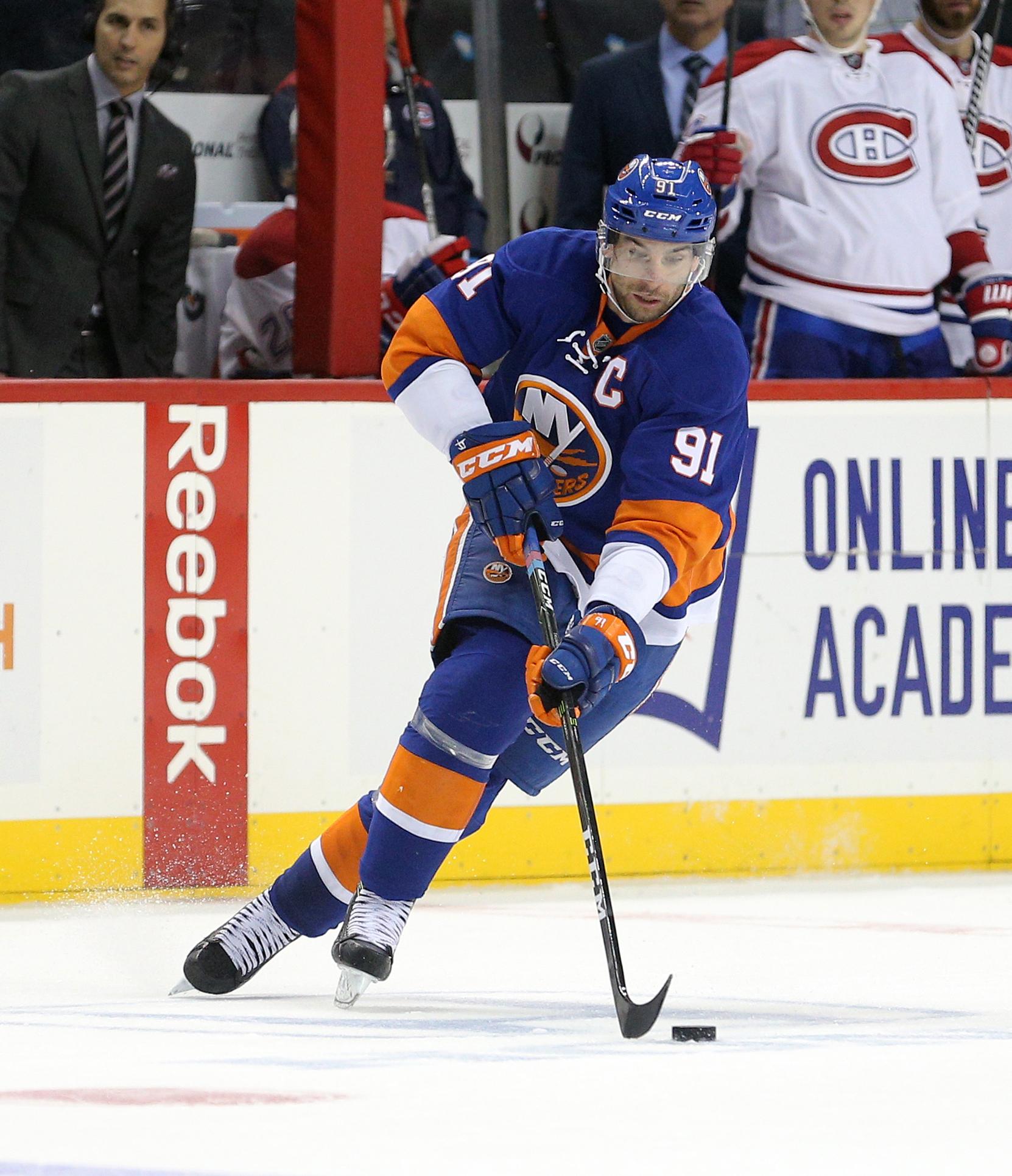 John Tavares (5-4-9 in 11 GP) leads the Islanders in scoring.