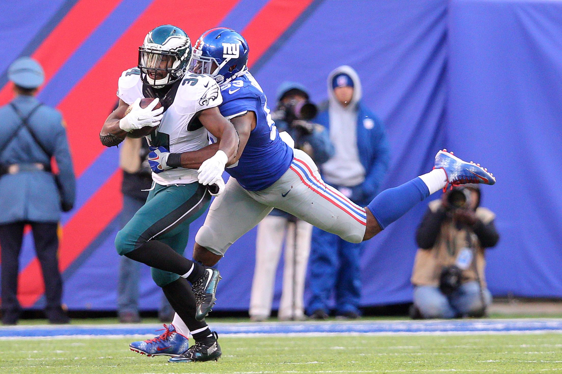 Philadelphia Eagles At New York Giants