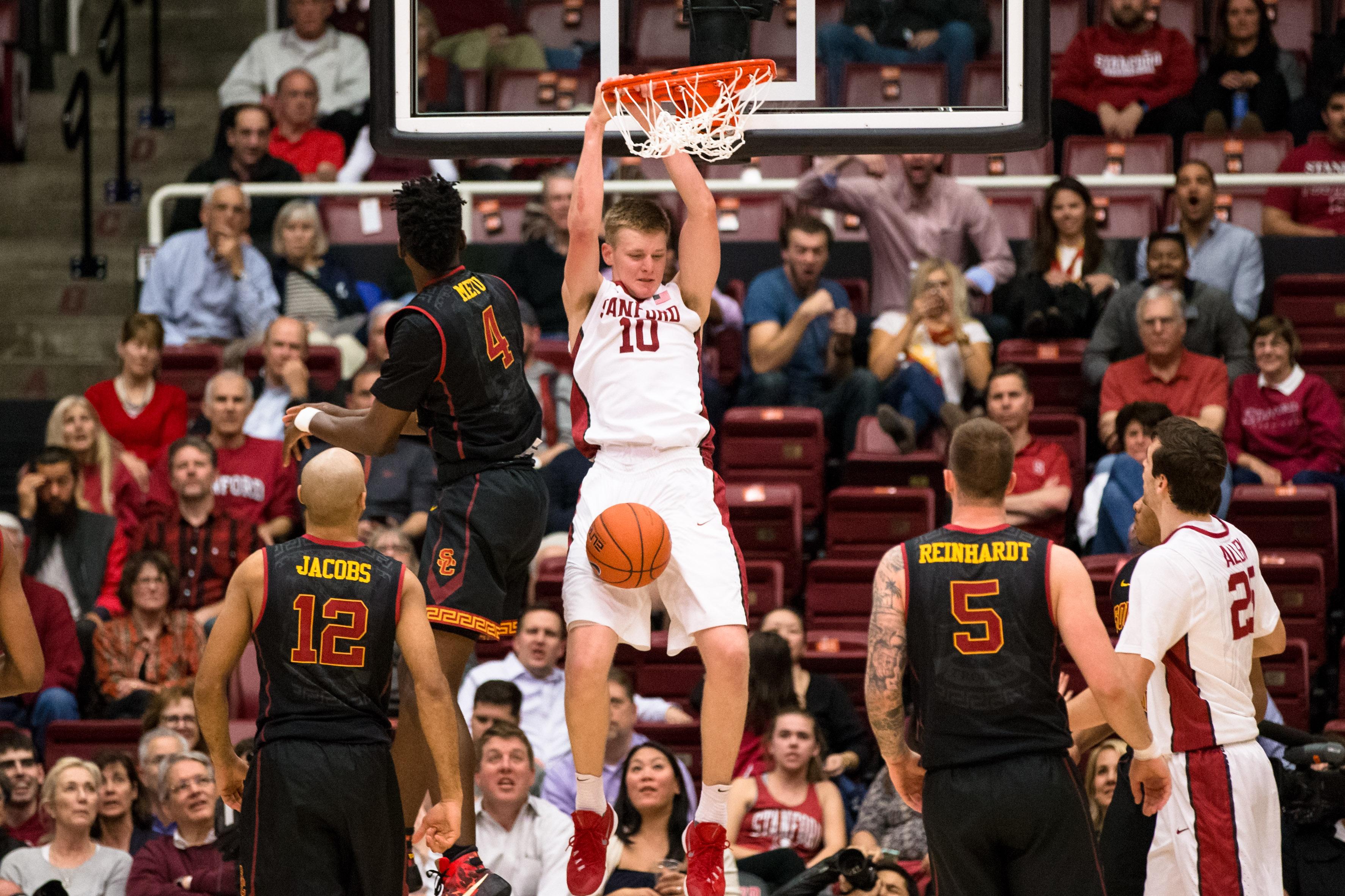 NCAA Basketball: Southern California at Stanford