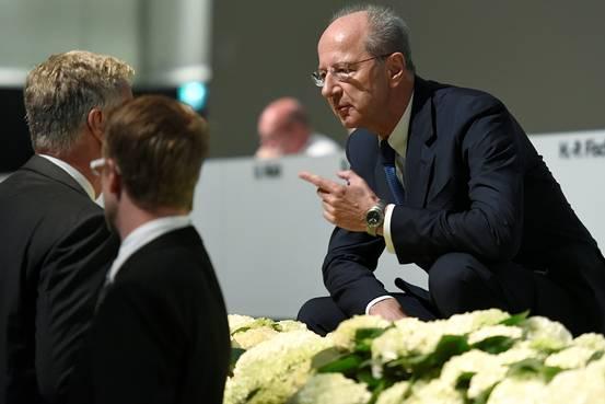Volkswagen Chairman Hans-Dieter Pötsch. June, 2016