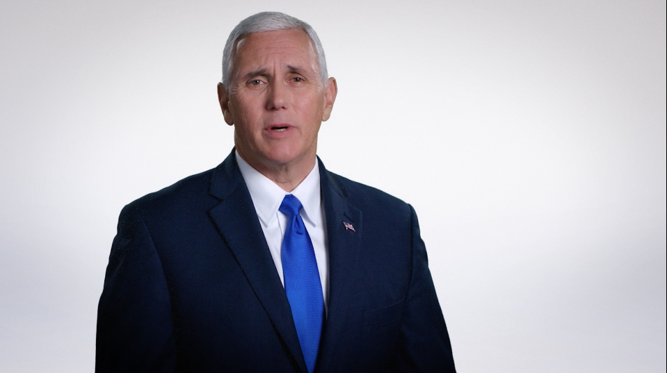 The VP candidate made a last-ditch pitch to evangelicals on November 6.