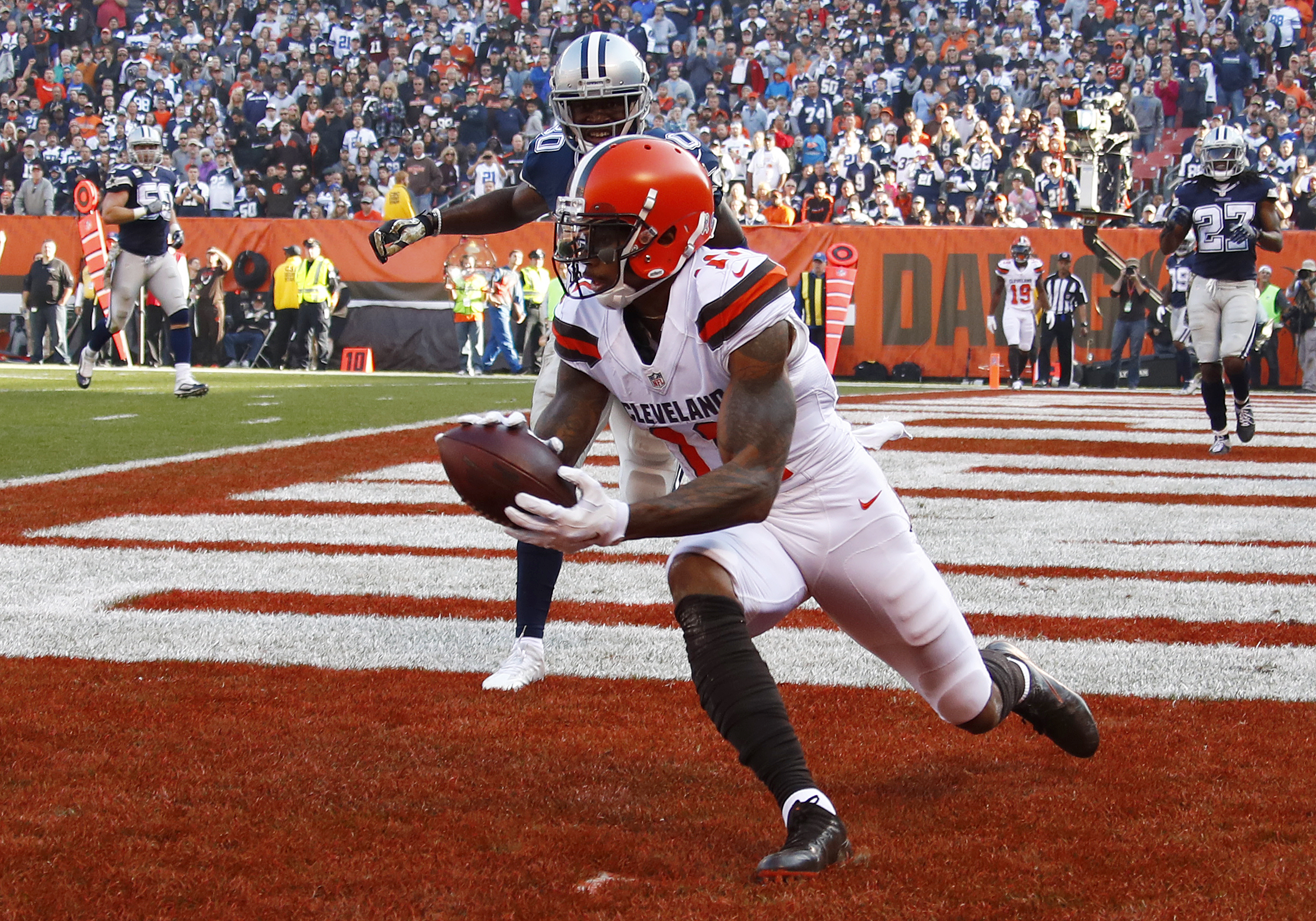 Fantasy football projections, Week 10: Browns-Ravens featuring Terrelle Pryor, Mike Wallace, Terrance West, m…