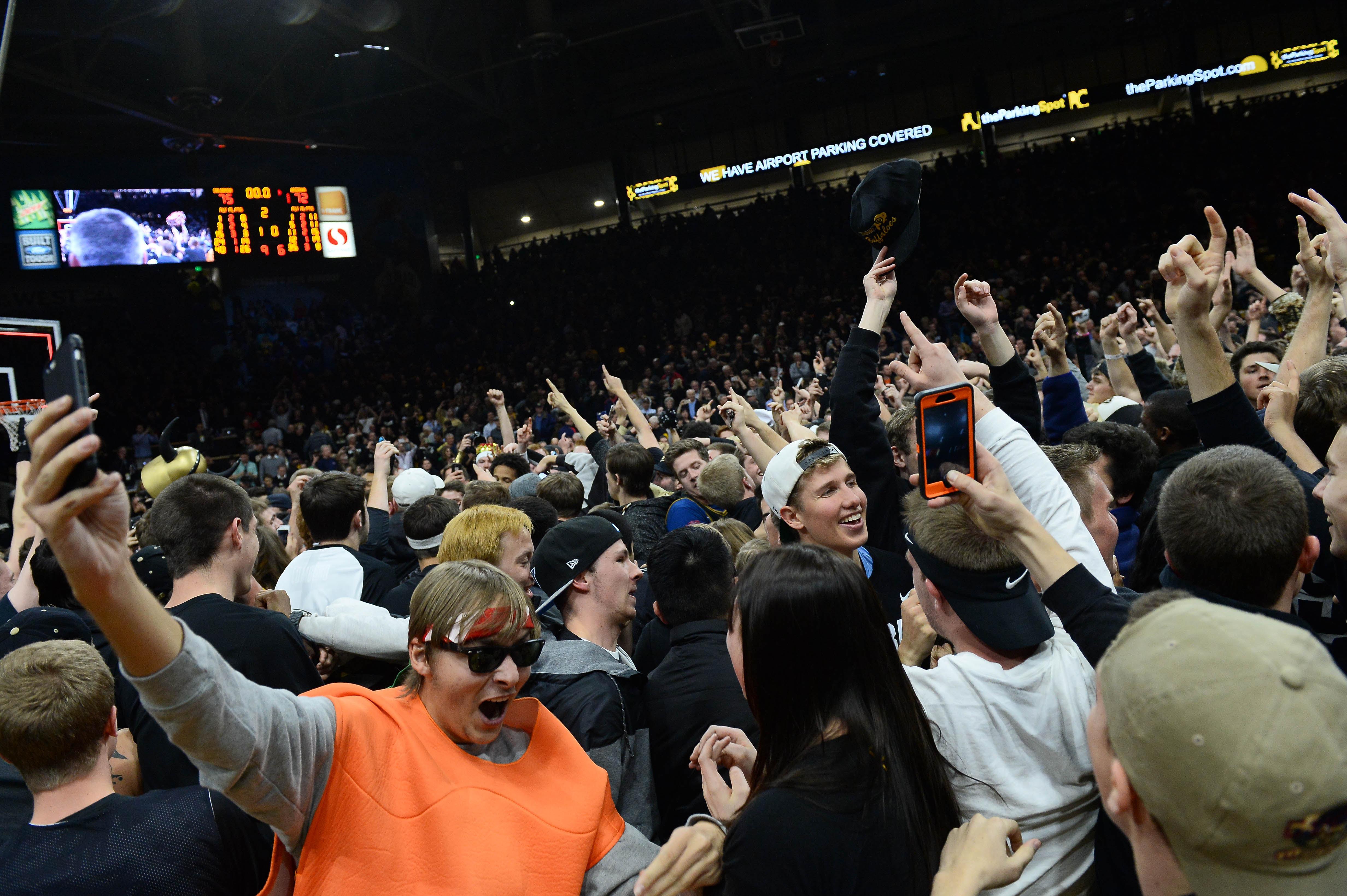 NCAA Basketball: Arizona at Colorado