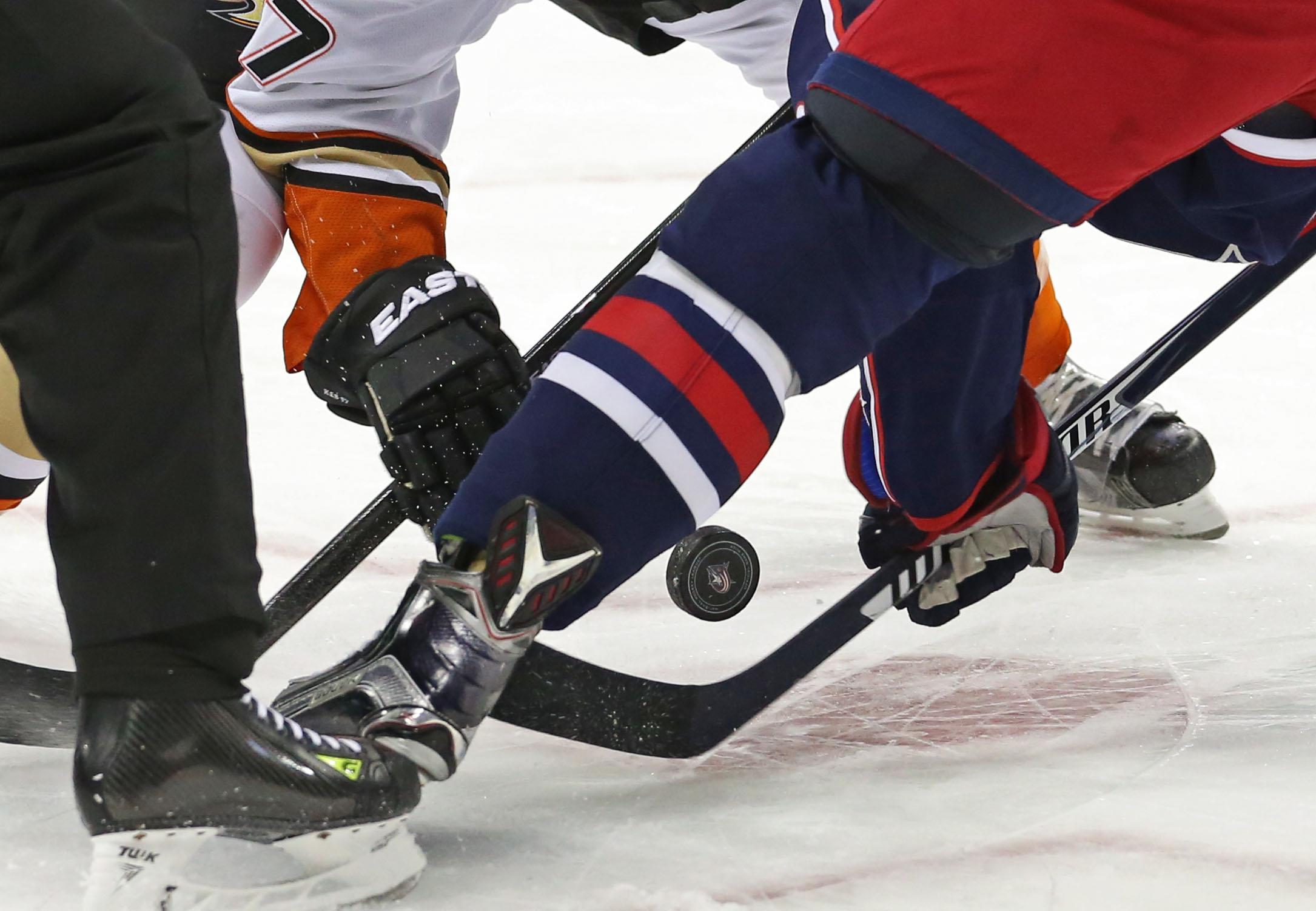 NHL: Anaheim Ducks at Columbus Blue Jackets