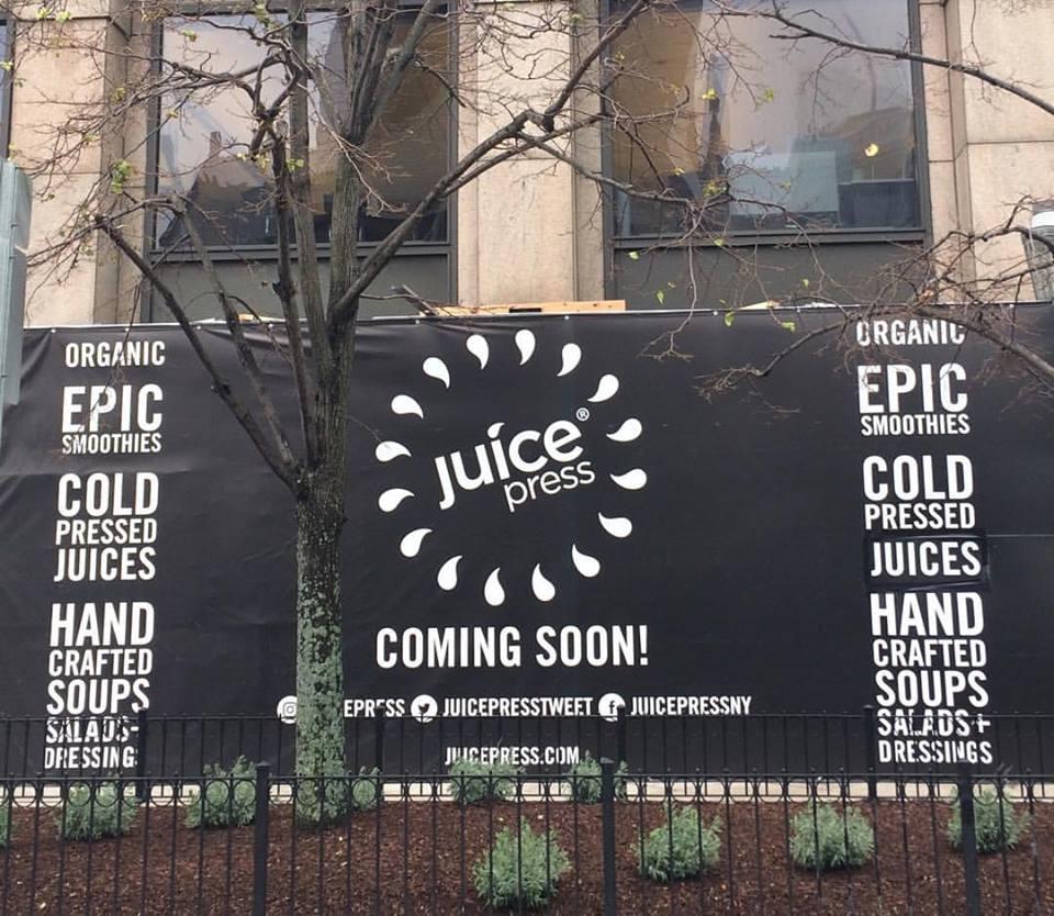 Juice Press Back Bay