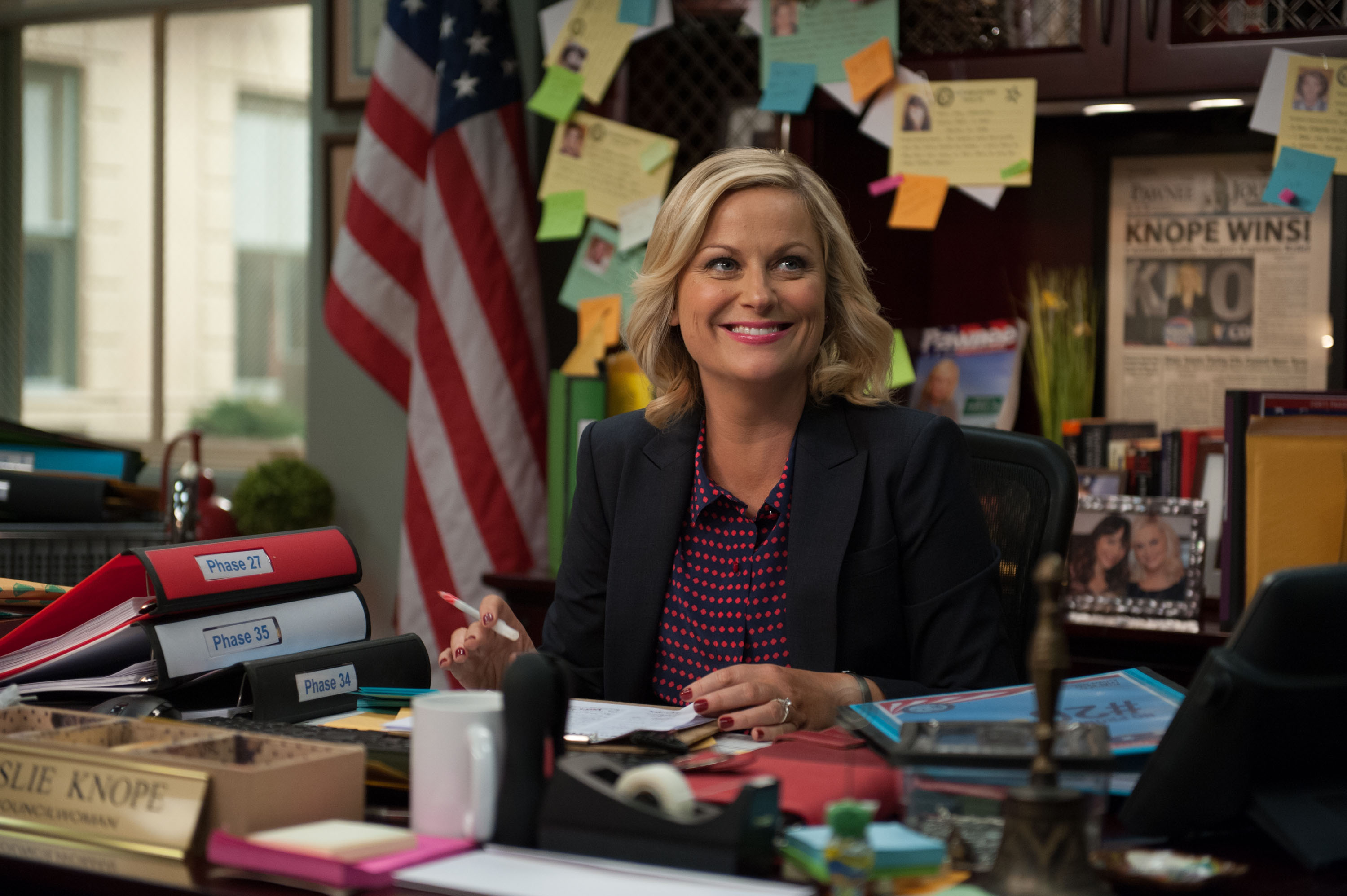 A letter to America from Leslie Knope, regarding Donald Trump