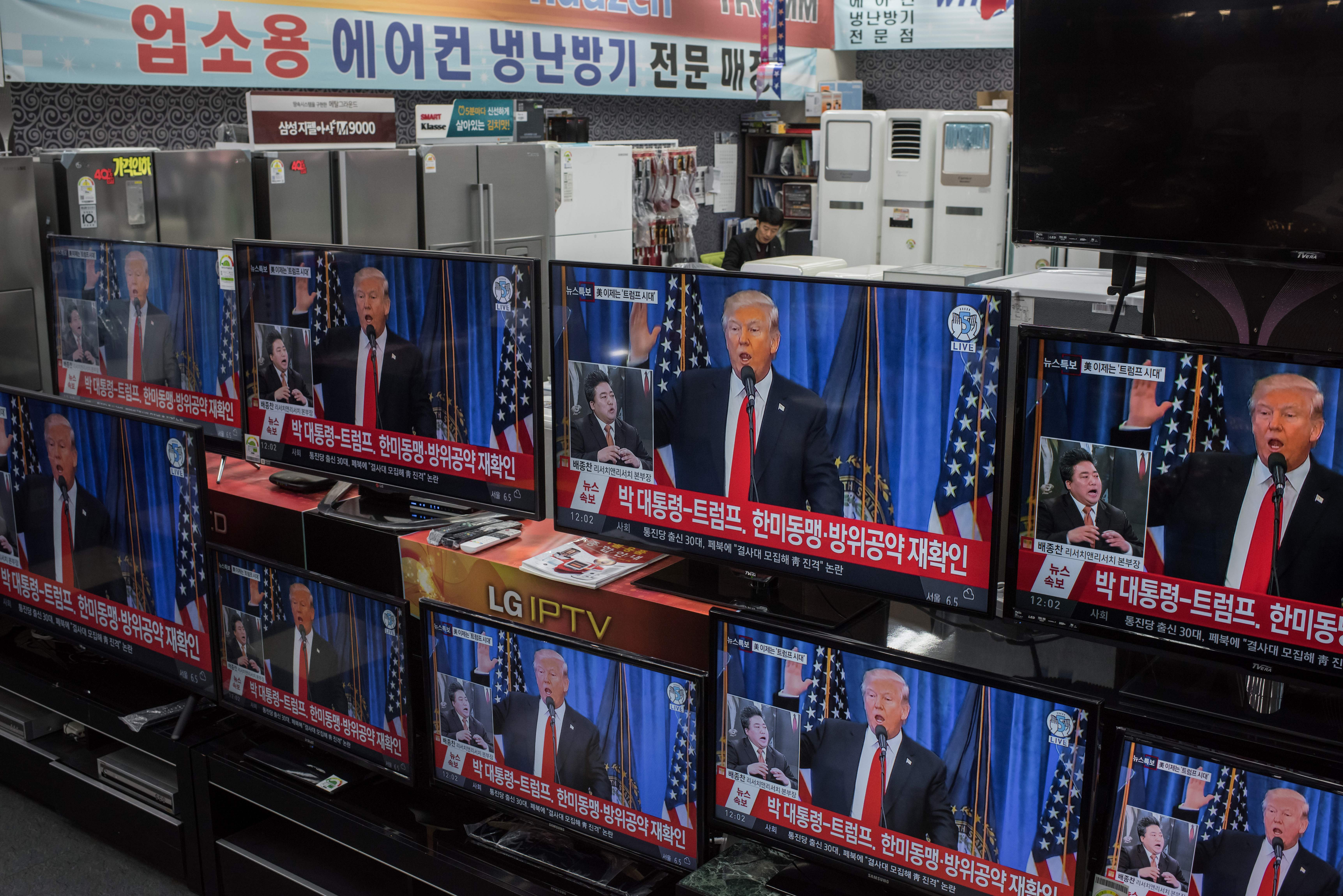 Trump just completely reversed his policy on South Korea — only 2 days after being elected